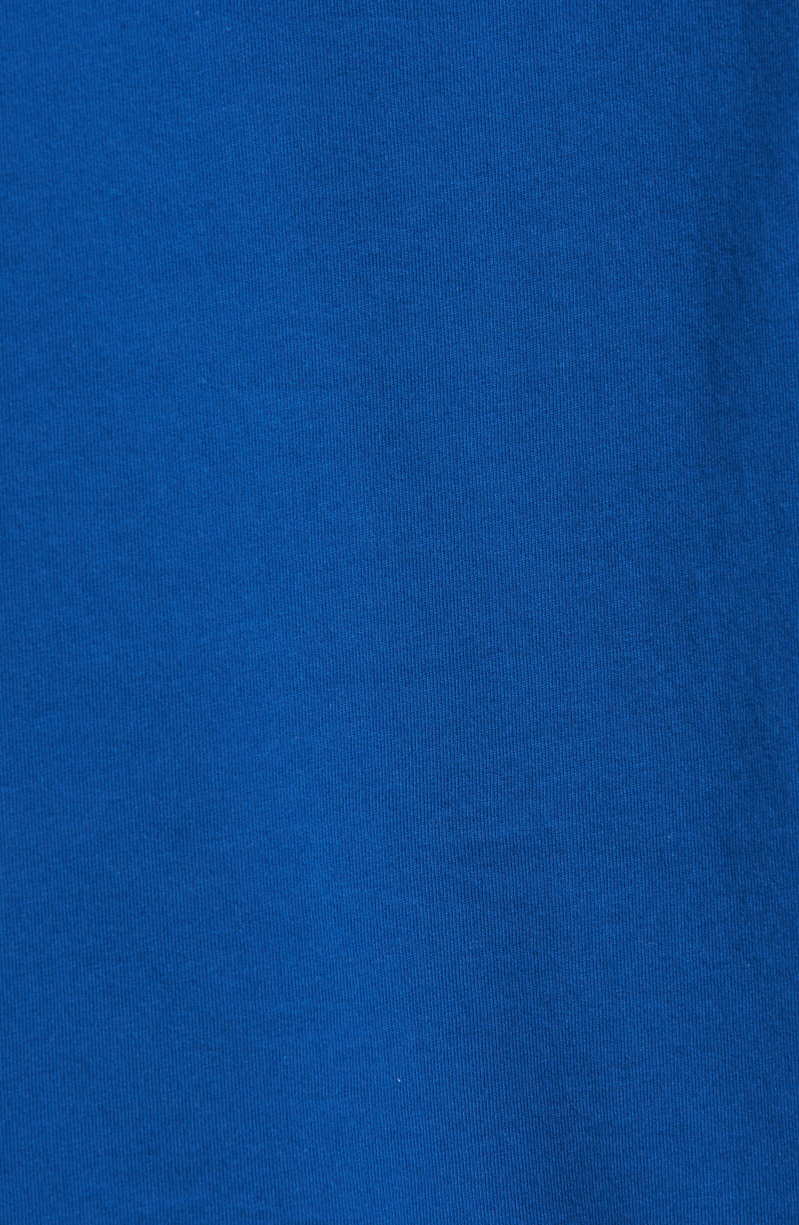 Go Deep Crewneck T-Shirt,                             Alternate thumbnail 5, color,                             Blue Lake