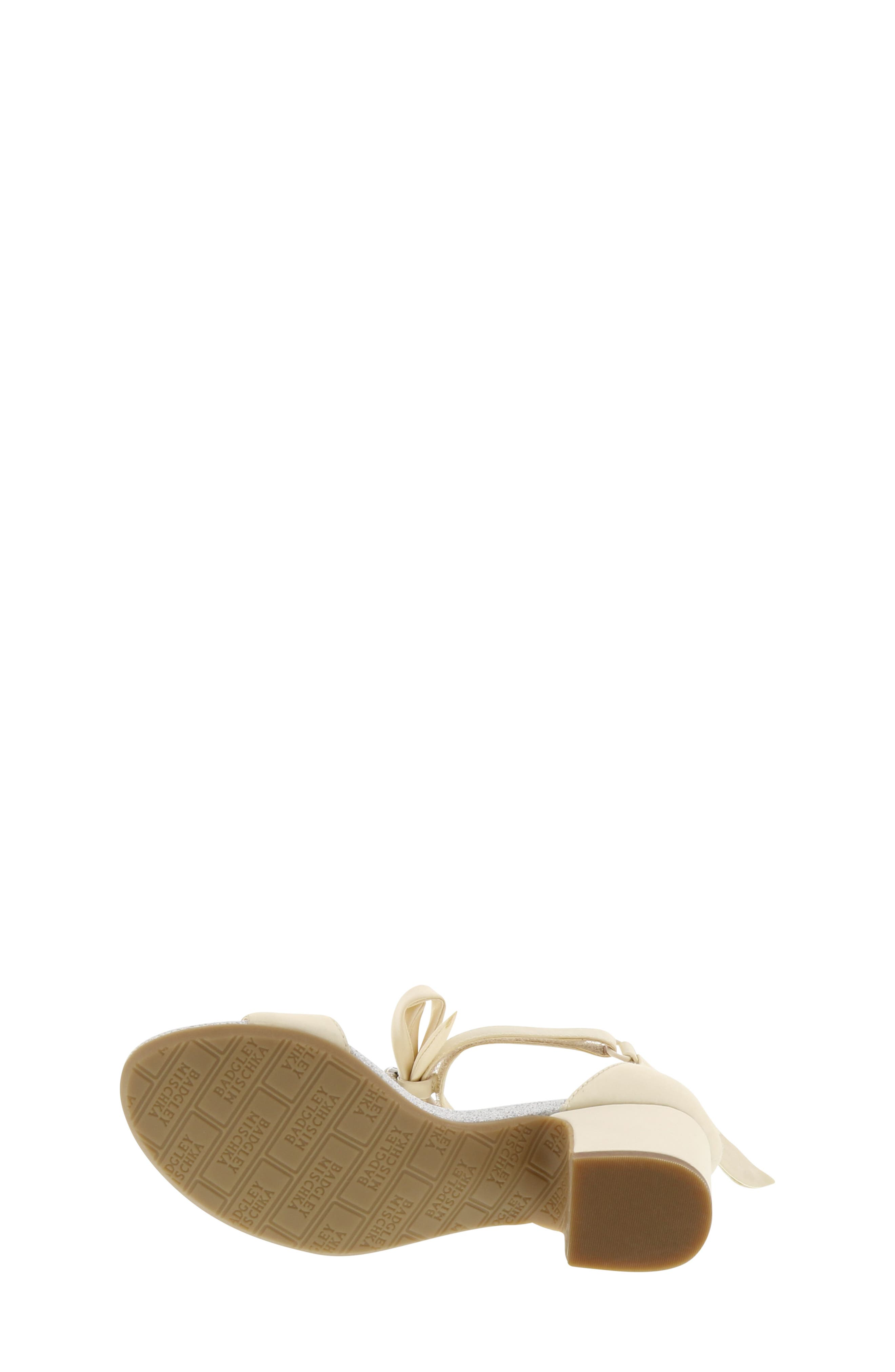 Alternate Image 5  - Badgley Mischka Pernia Embellished Sandal (Toddler, Little Kid & Big Kid)