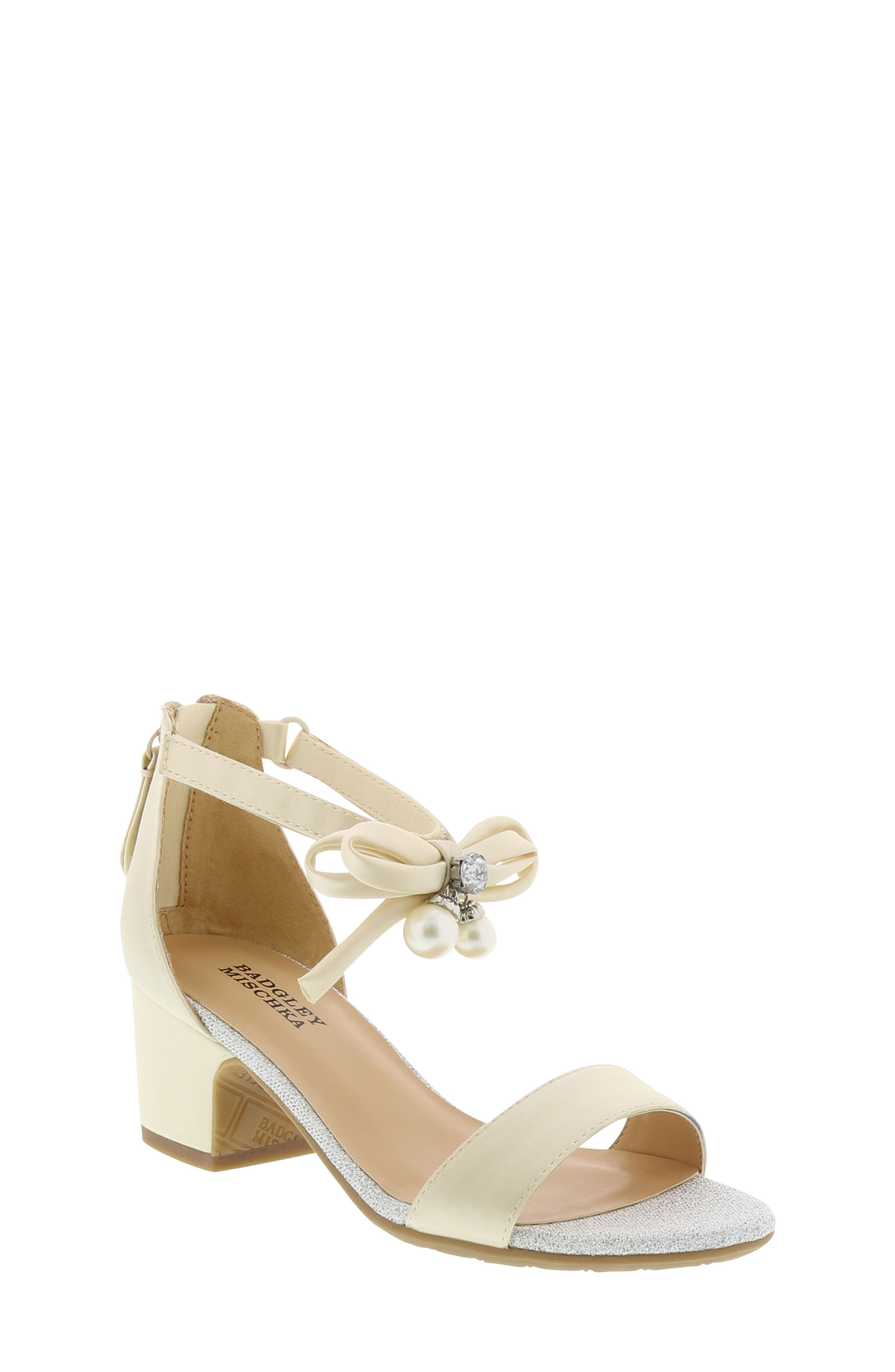 Badgley Mischka Pernia Embellished Sandal (Toddler, Little Kid & Big Kid)