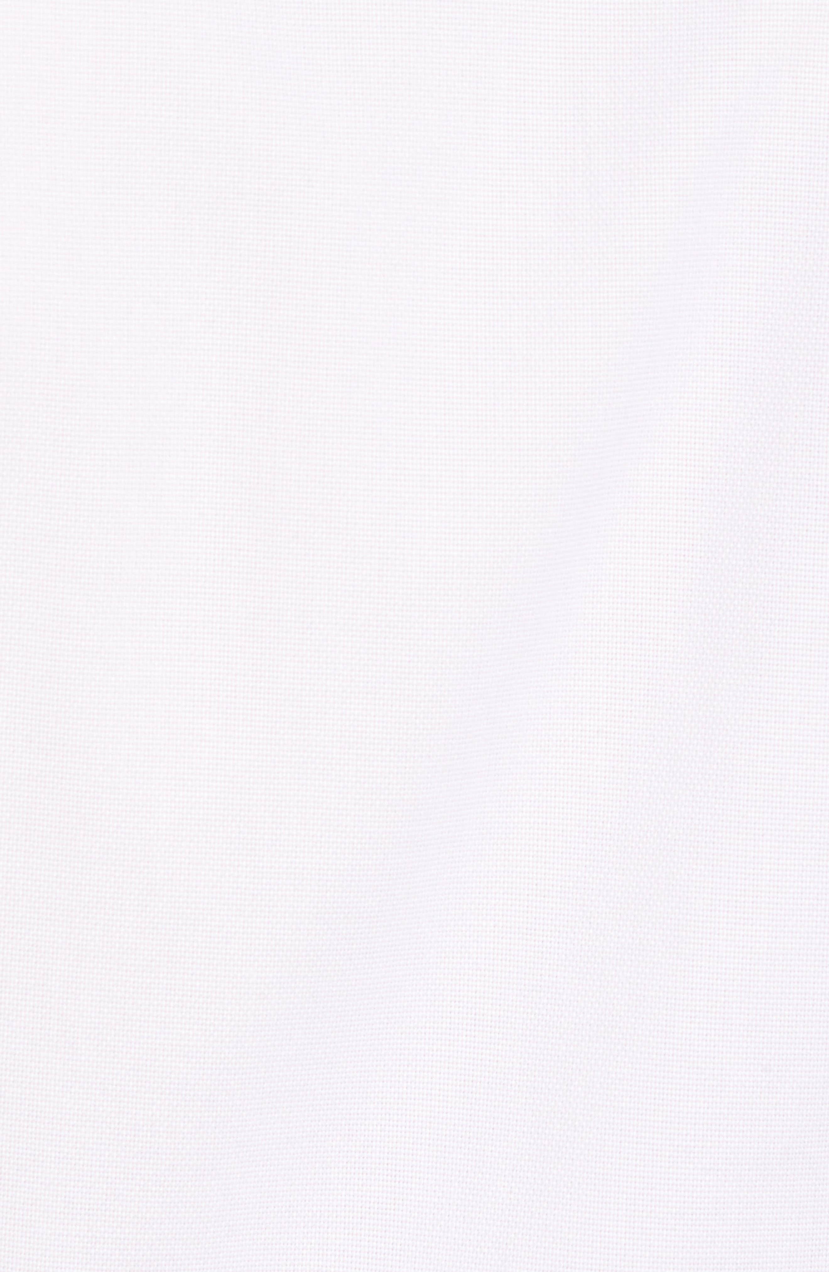 Regular Fit Garment Washed Sport Shirt,                             Alternate thumbnail 5, color,                             White