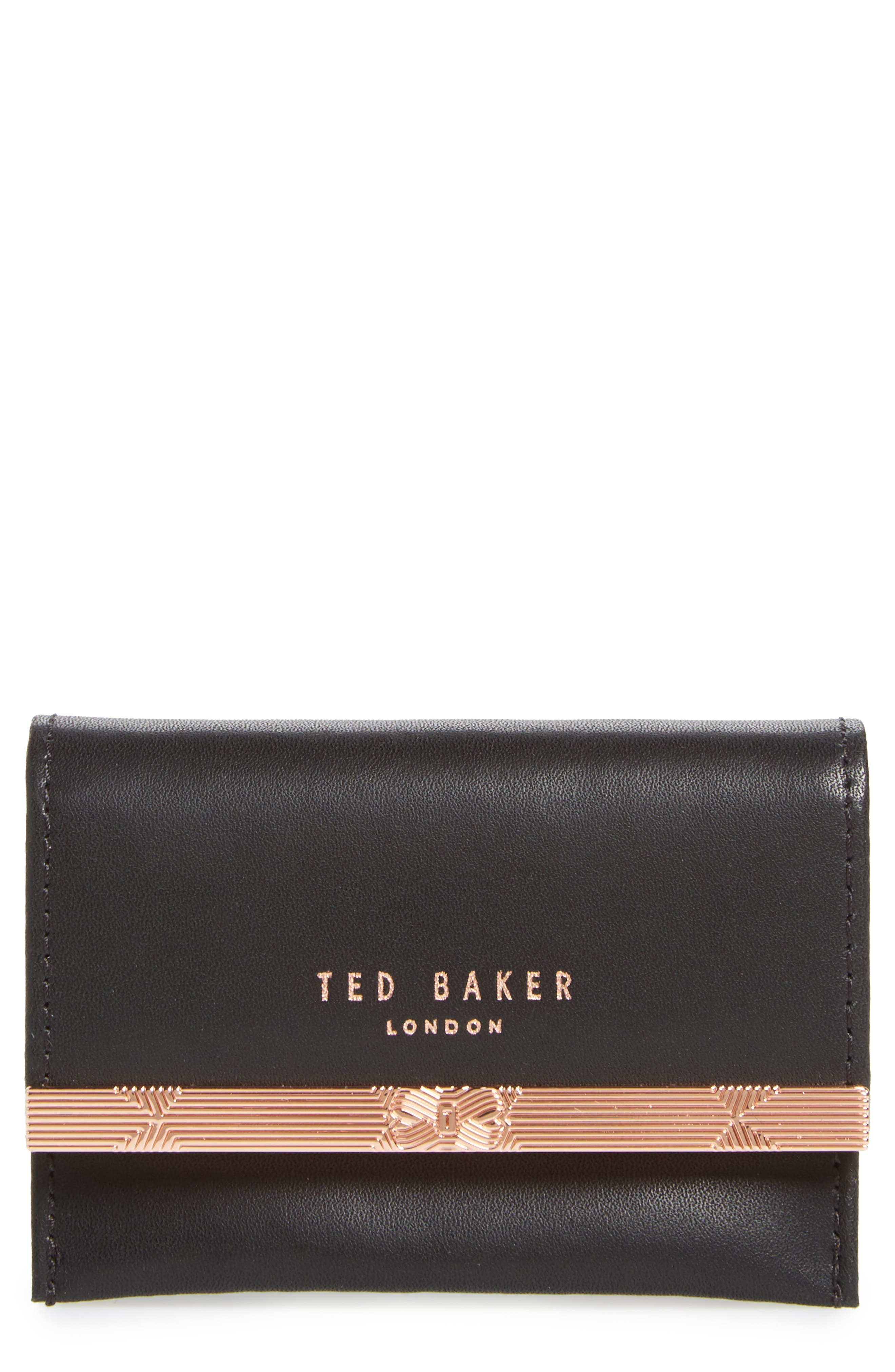 Ted Baker London Niccole Accordion Leather Card Case