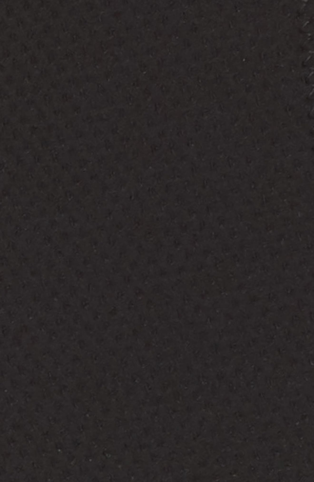 J.Crew Piqué Hipster Bikini Bottoms,                             Alternate thumbnail 5, color,                             Black