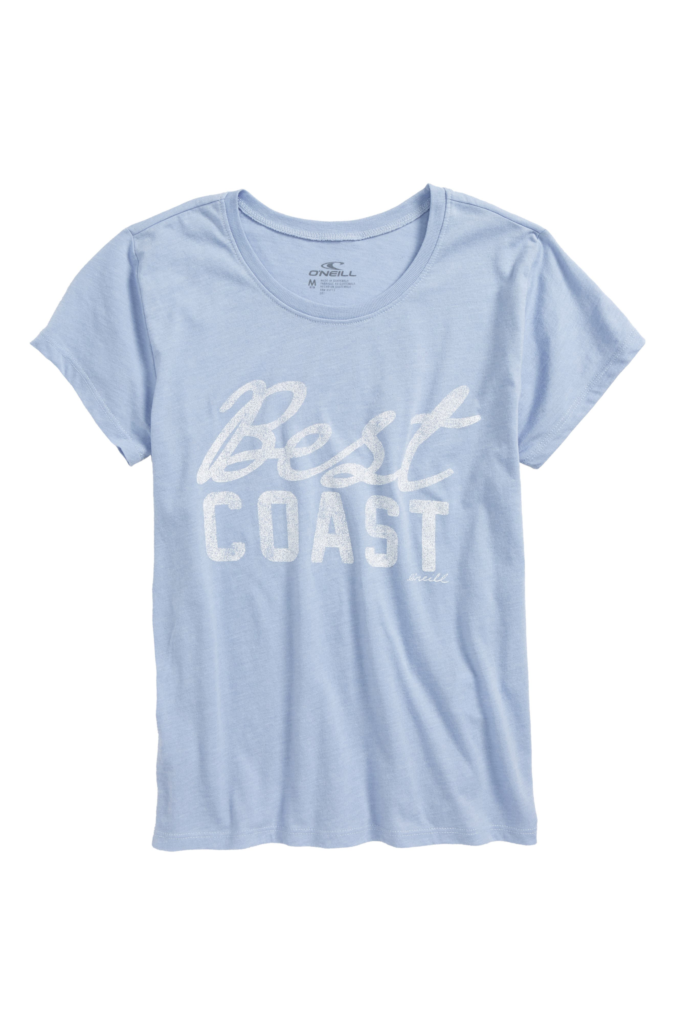 O'Neill The Best Coast Graphic Tee (Big Girls)