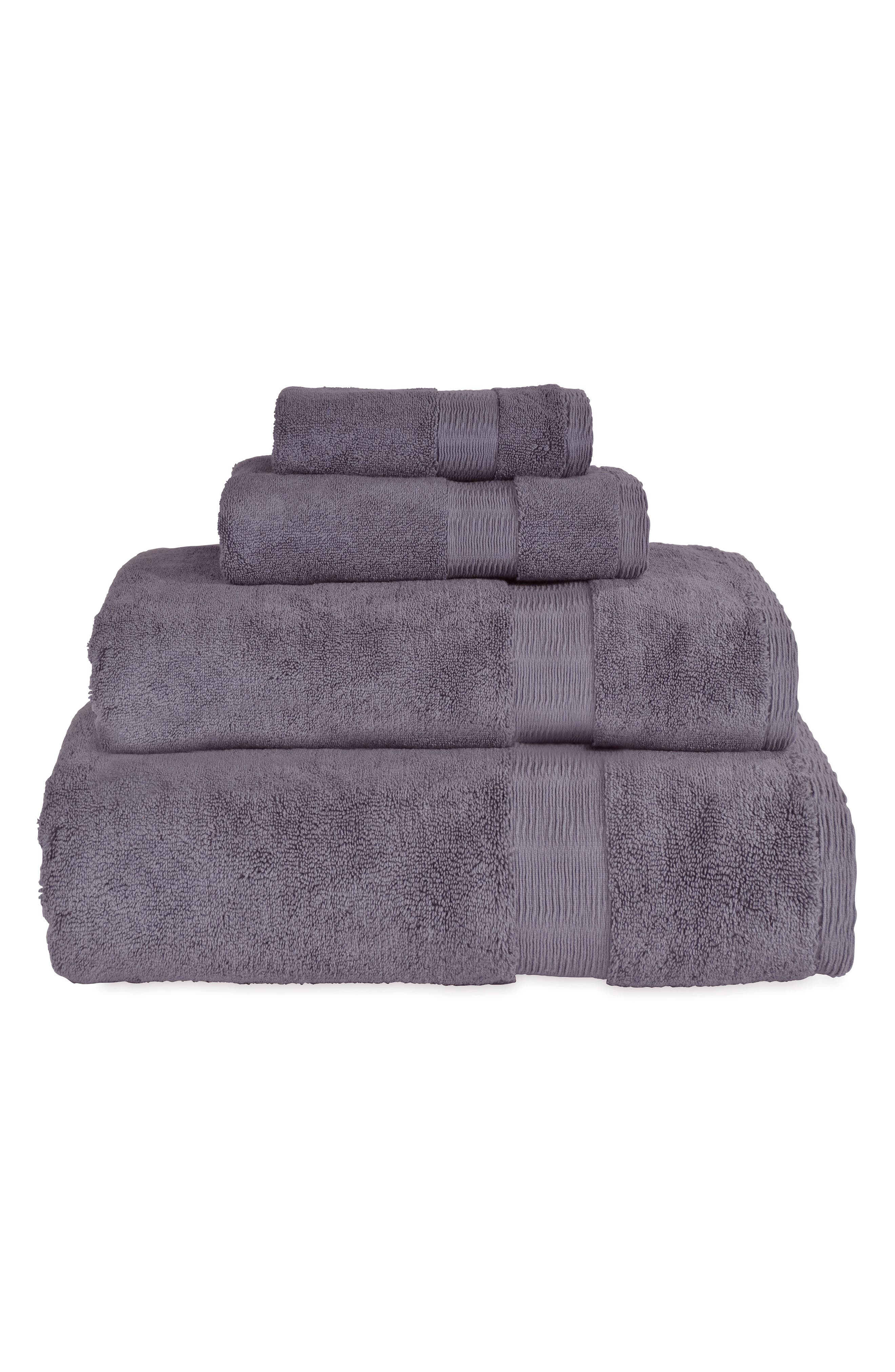 Mercer Hand Towel,                             Alternate thumbnail 2, color,                             Dusty Lavender