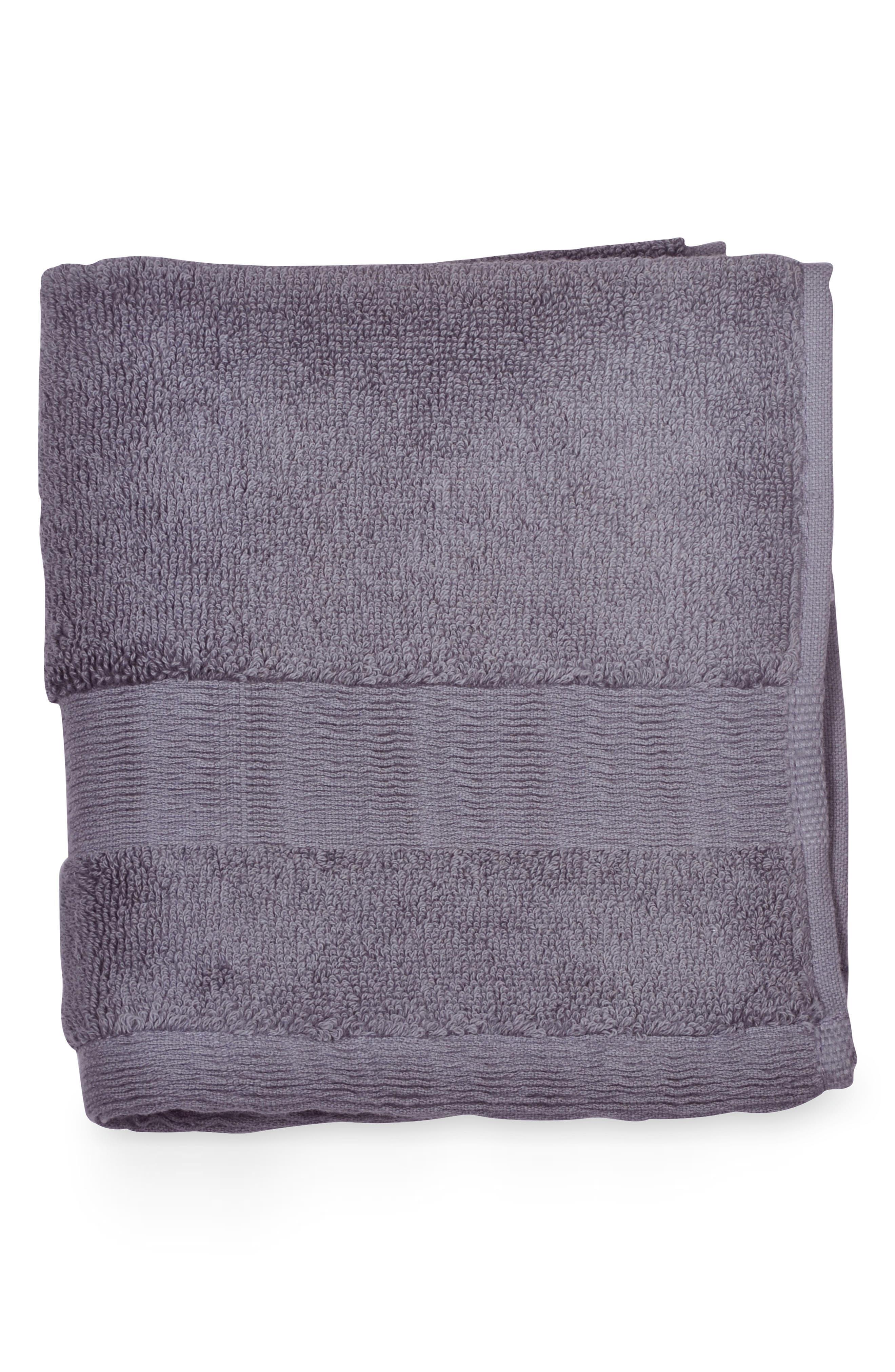 Mercer Washcloth,                             Main thumbnail 1, color,                             Dusty Lavender