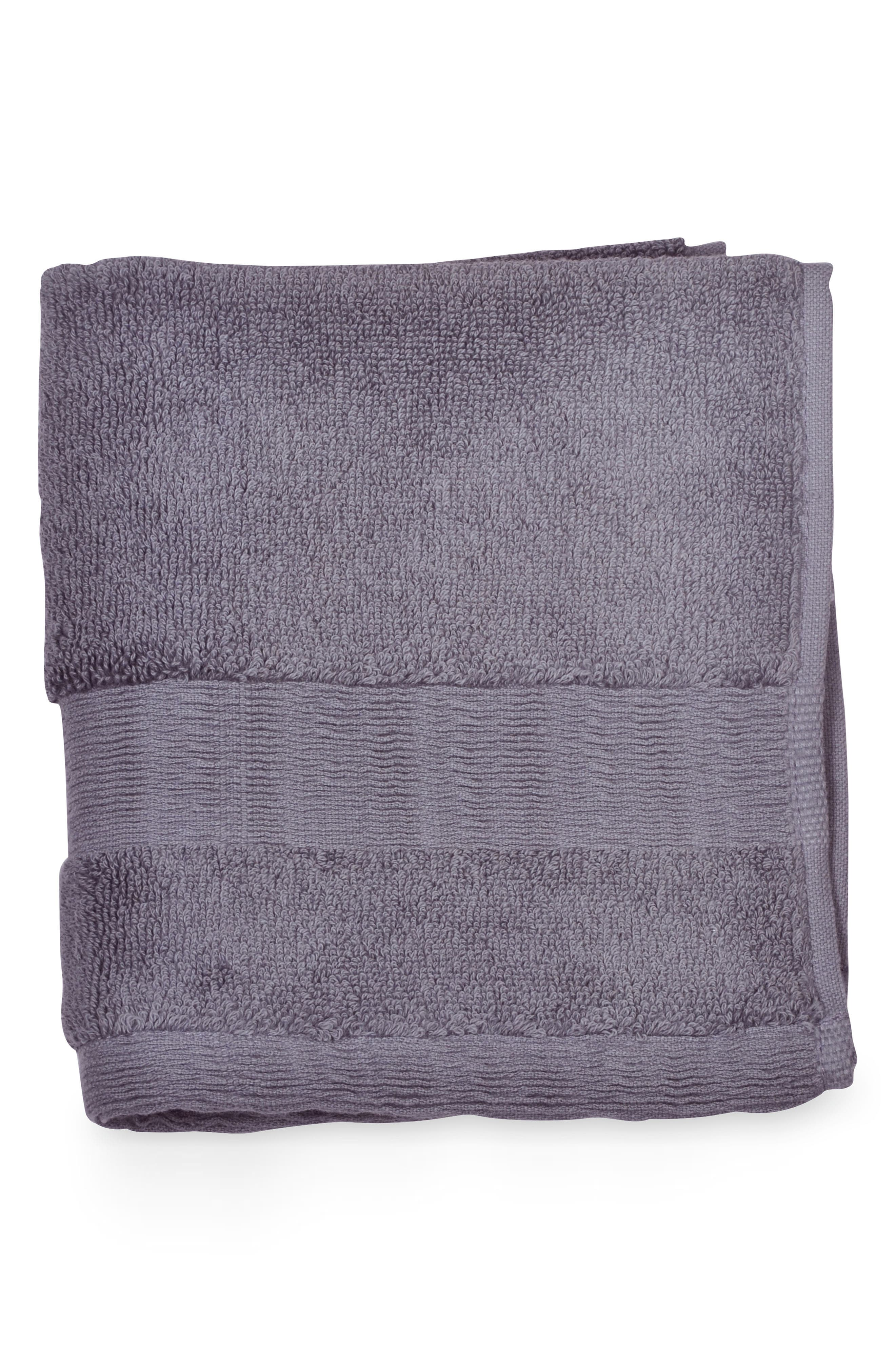Mercer Washcloth,                         Main,                         color, Dusty Lavender