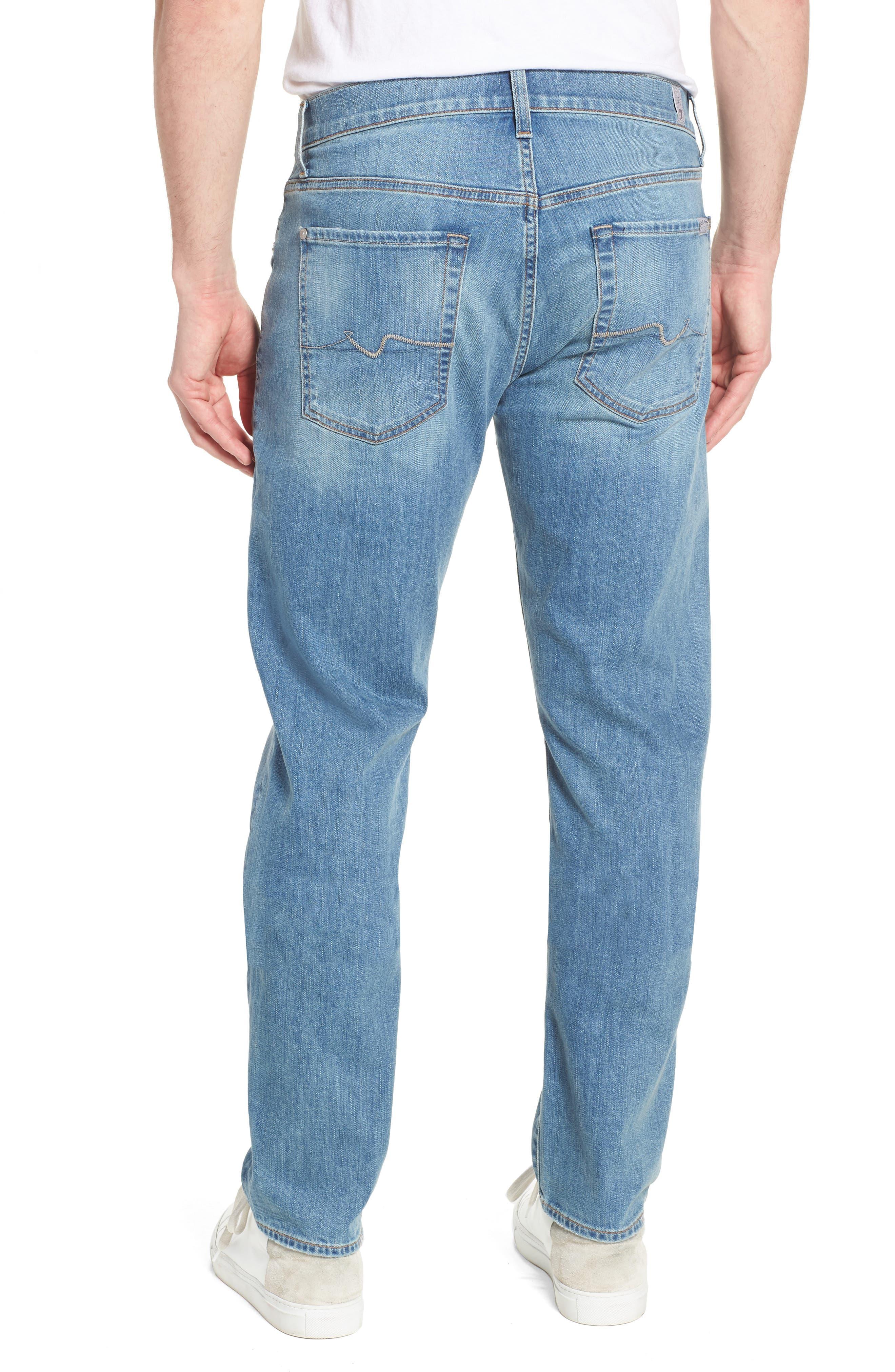 The Straight Slim Straight Leg Jeans,                             Alternate thumbnail 2, color,                             Valhalla
