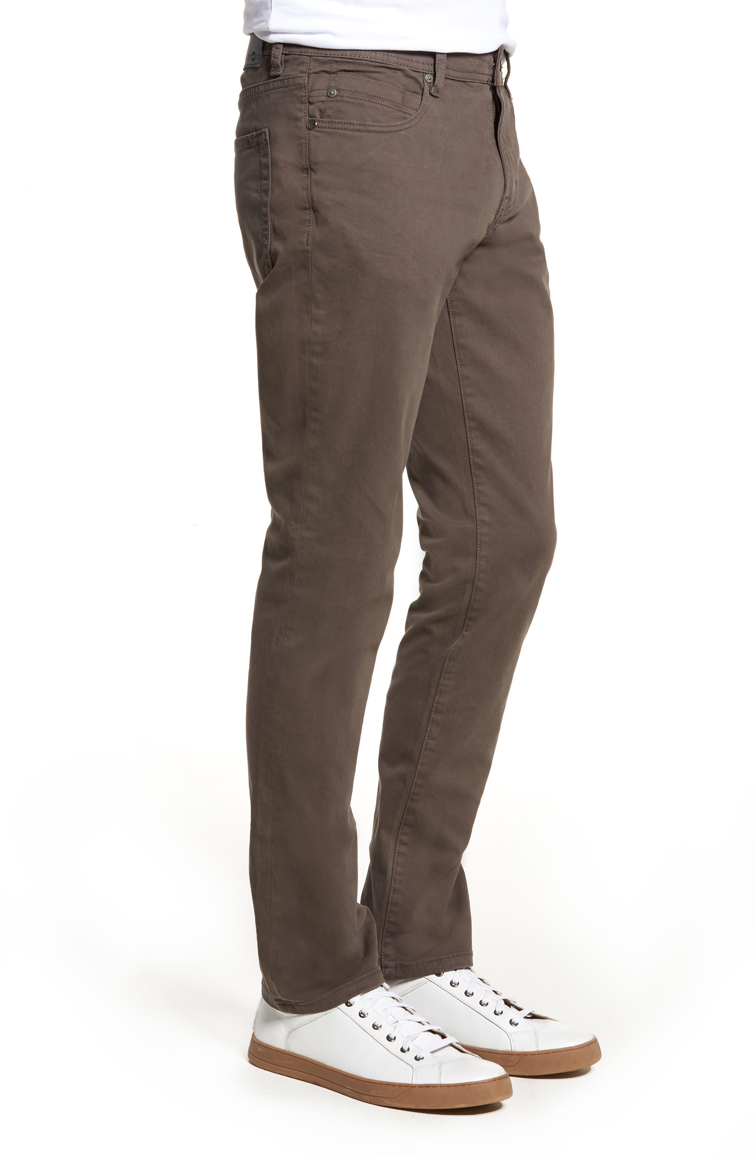 Jeans Co. Kingston Slim Straight Leg Jeans,                             Alternate thumbnail 3, color,                             Deep Earth