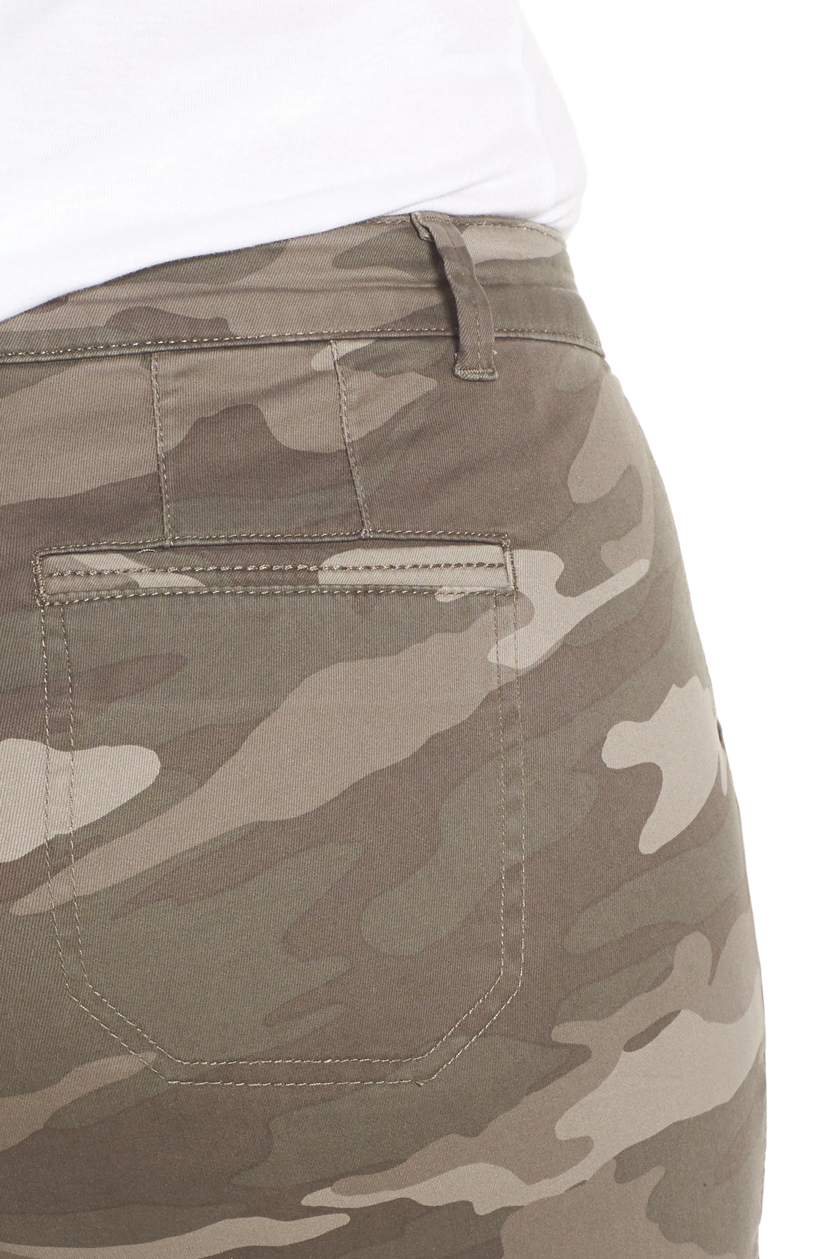 Flex-ellent Camo Cargo Pants,                             Alternate thumbnail 4, color,                             Mr. Mushroom