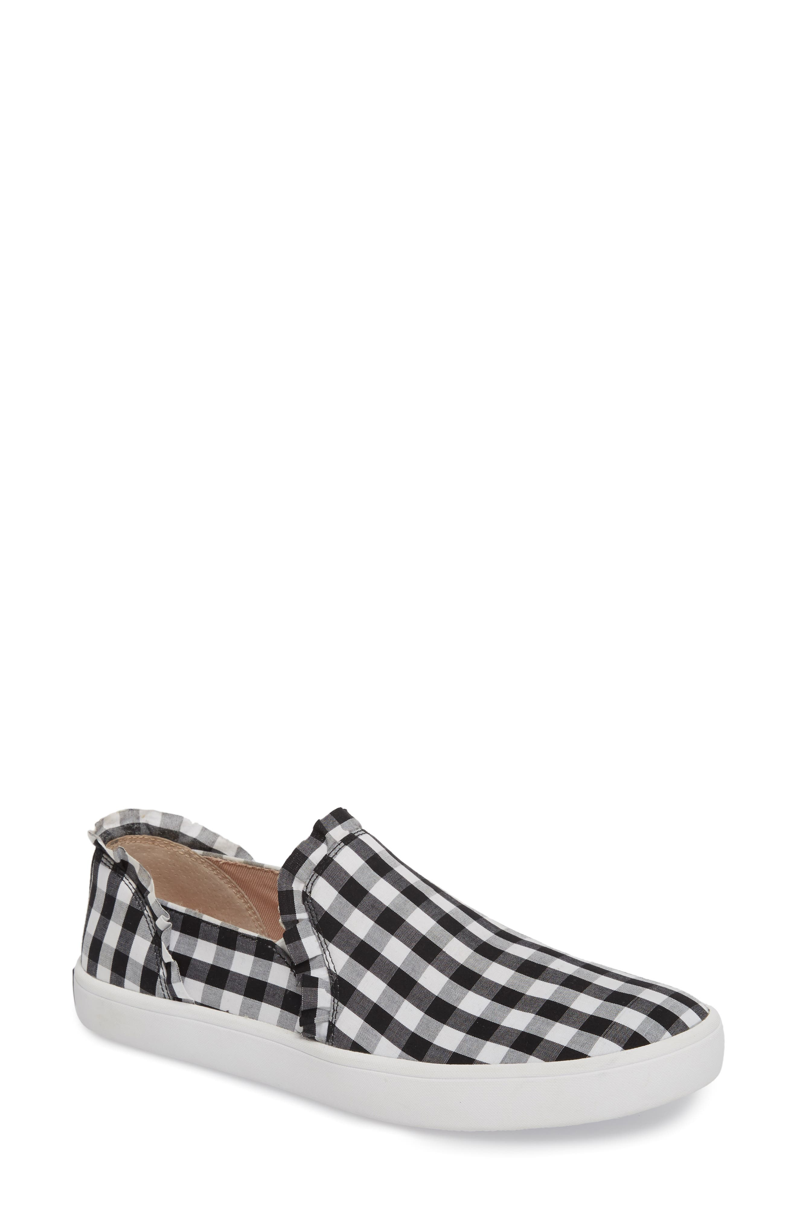 kate spade new york lilly ruffle slip-on sneaker (Women)