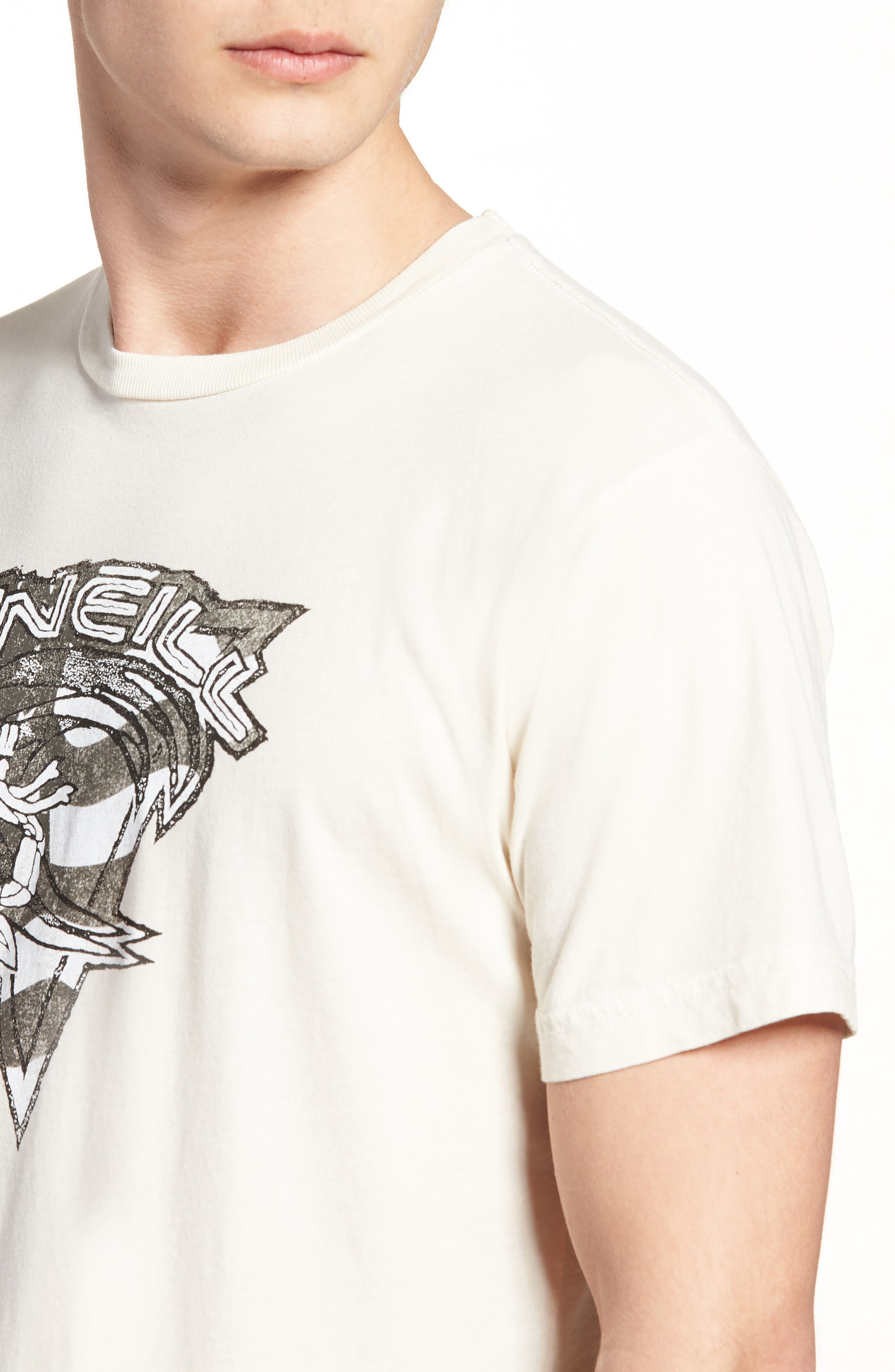 Patriot Graphic T-Shirt,                             Alternate thumbnail 4, color,                             Bone