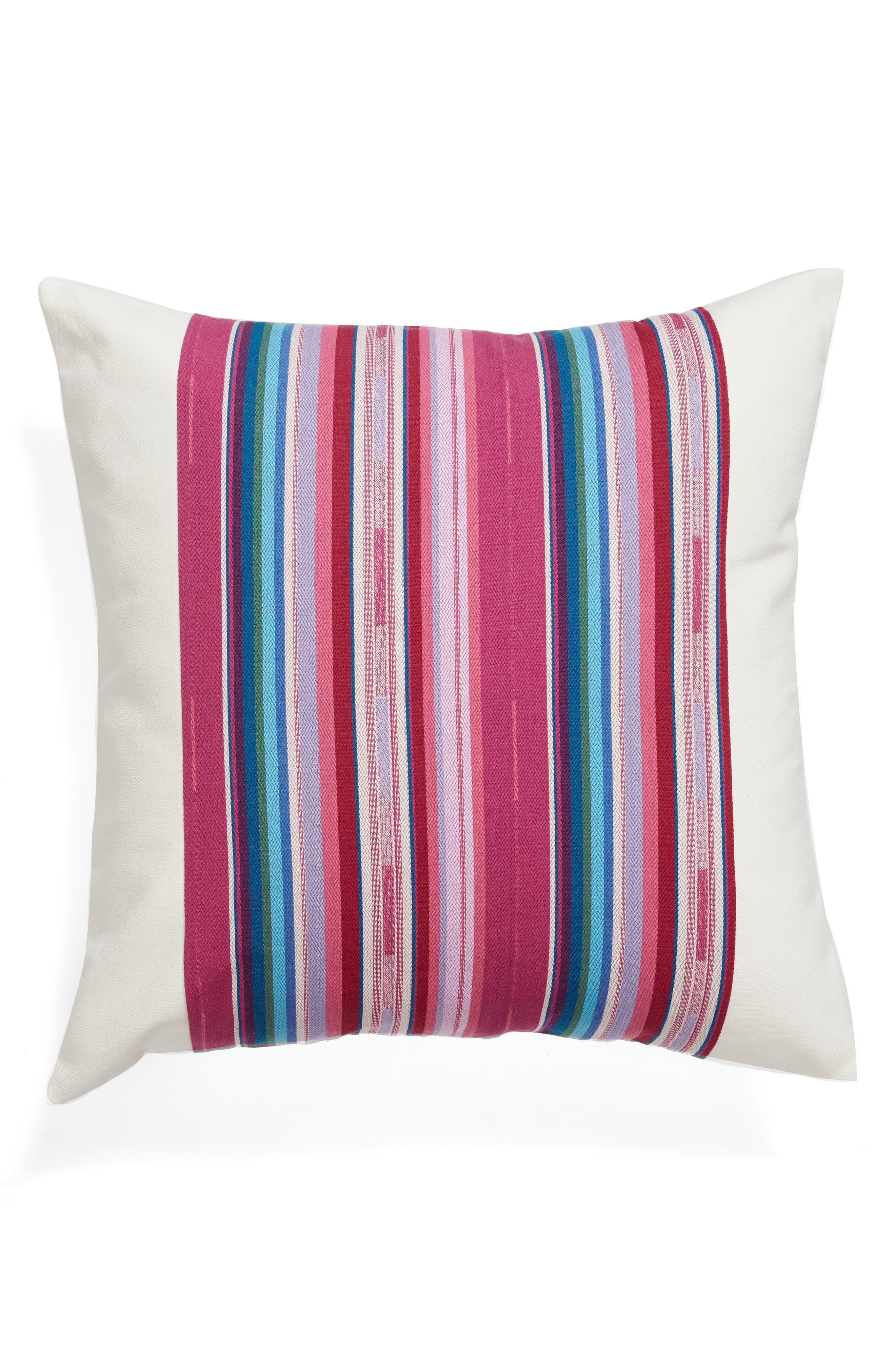 Serape Stripe Pillow,                             Main thumbnail 1, color,                             Multi