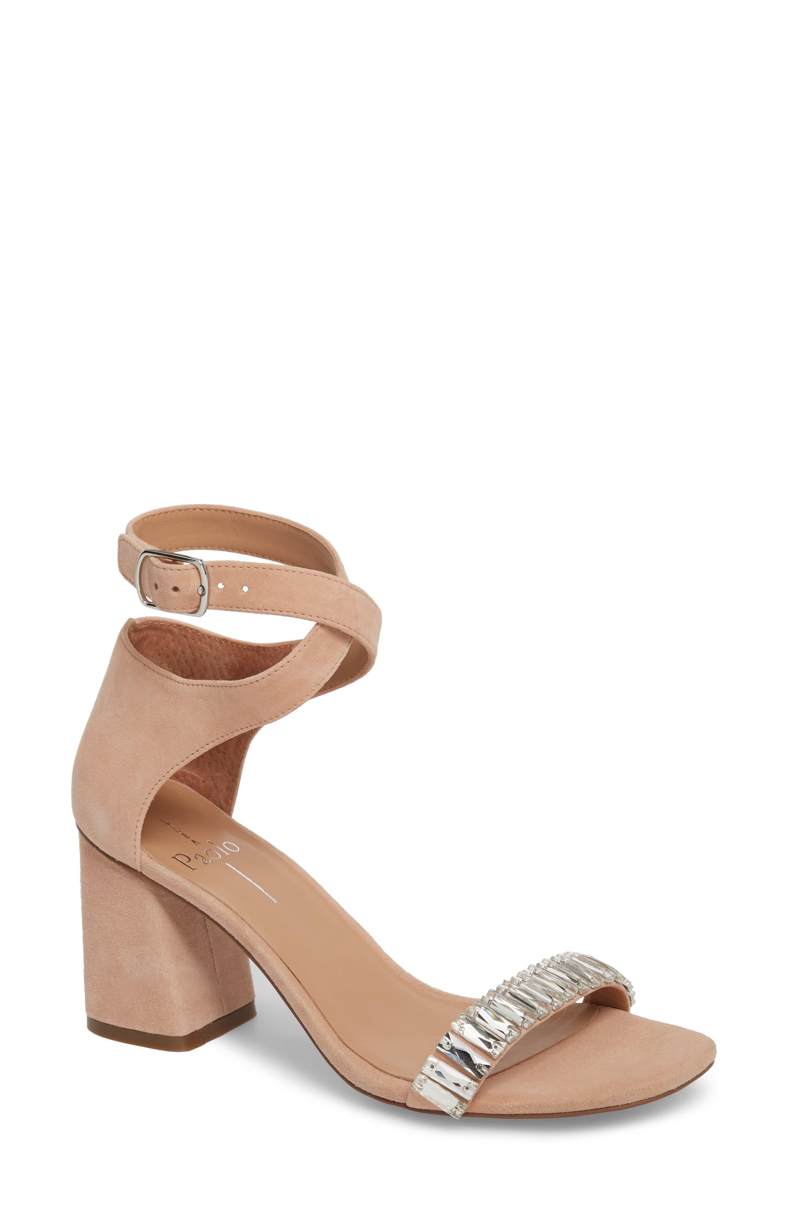 Linea Paolo Harlow Ankle Strap Sandal (Women)