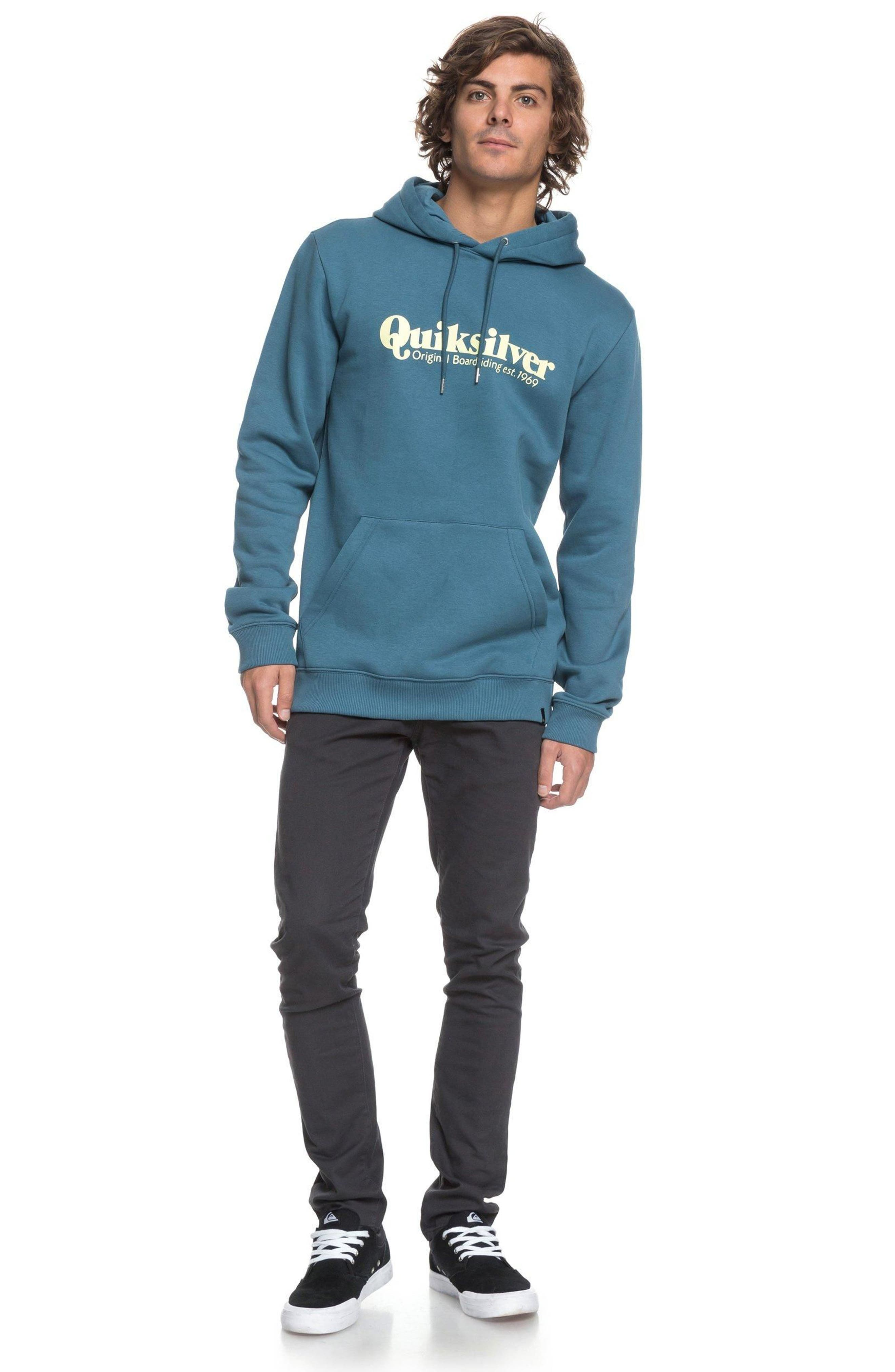 Twin Fin Mates Hoodie,                             Alternate thumbnail 3, color,                             Real Teal