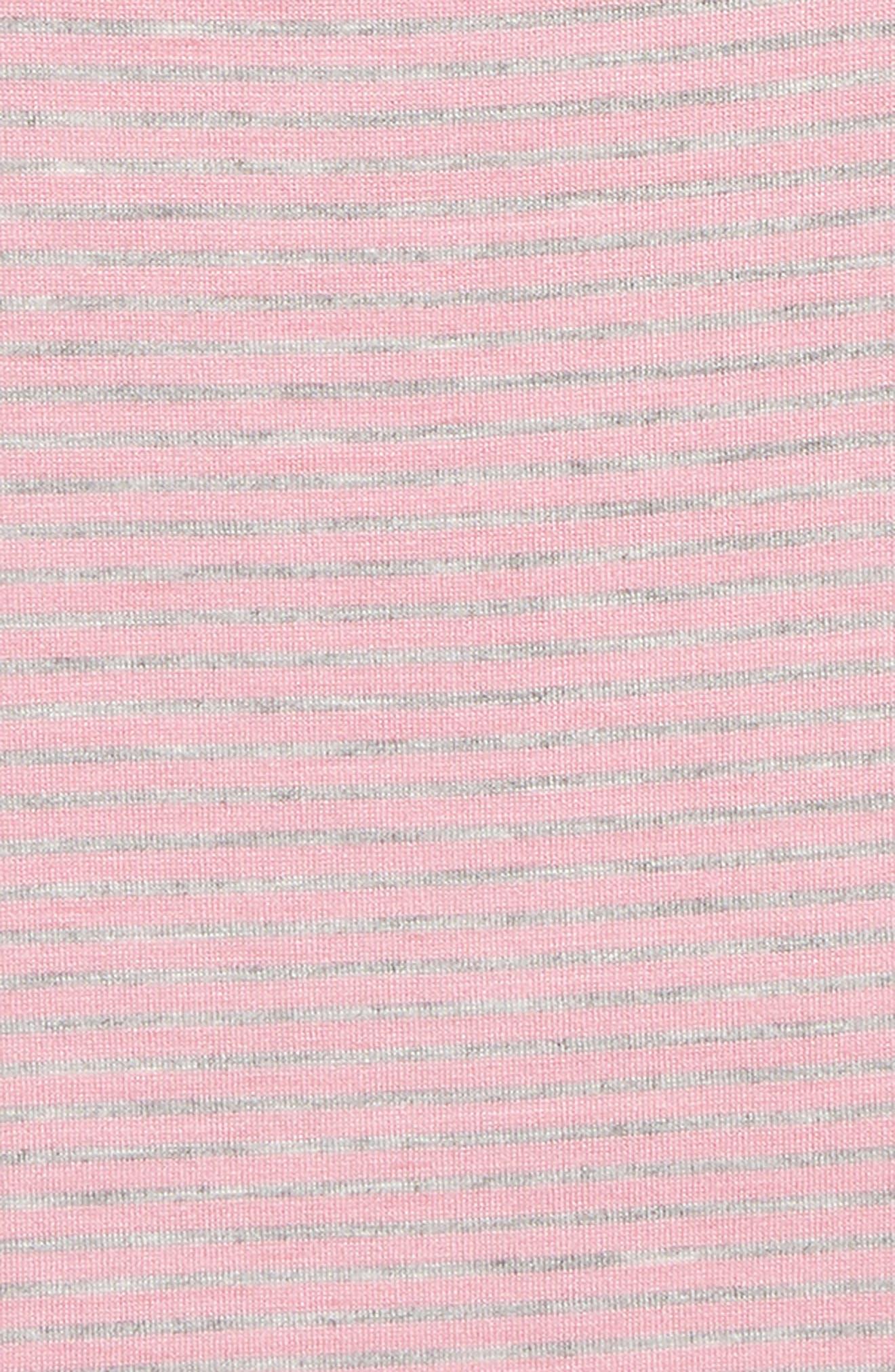 Asymmetrical Ruffle Tank,                             Alternate thumbnail 2, color,                             Grey Ash Heather- Pink