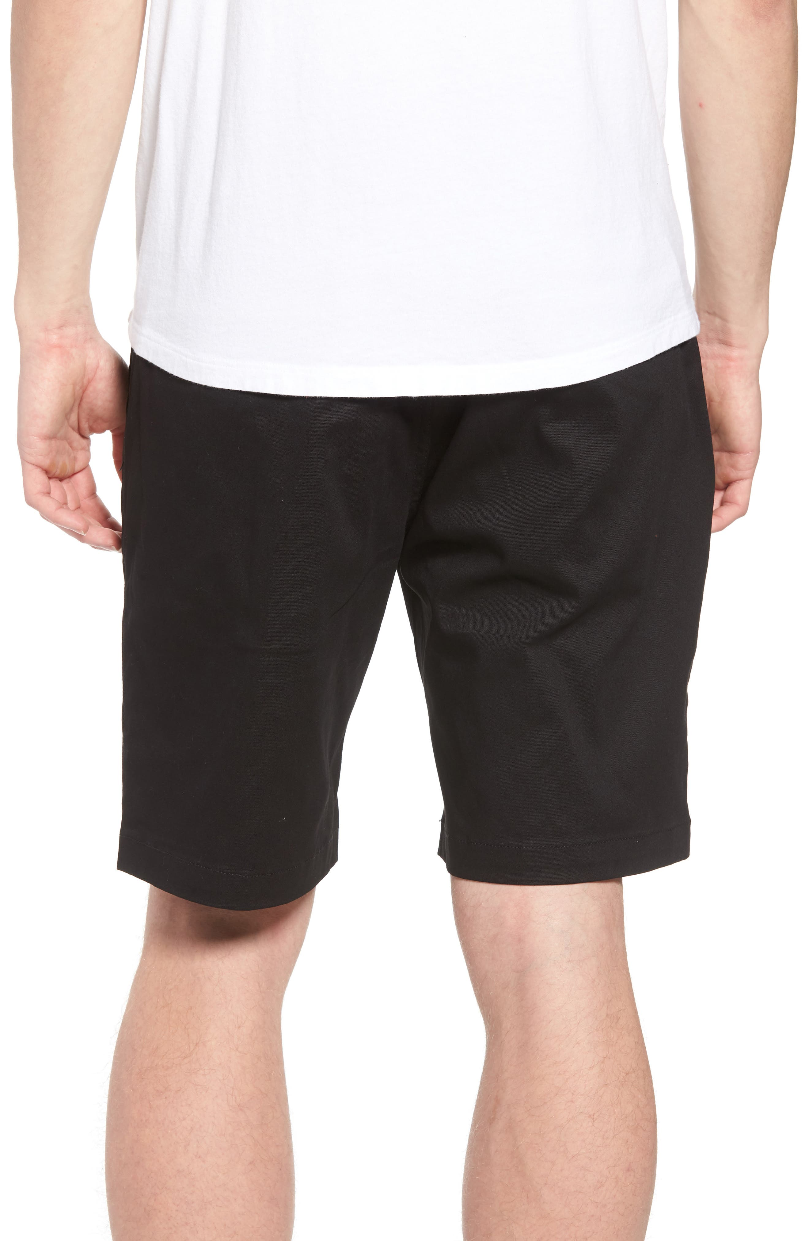 Runner Shorts,                             Alternate thumbnail 2, color,                             Black
