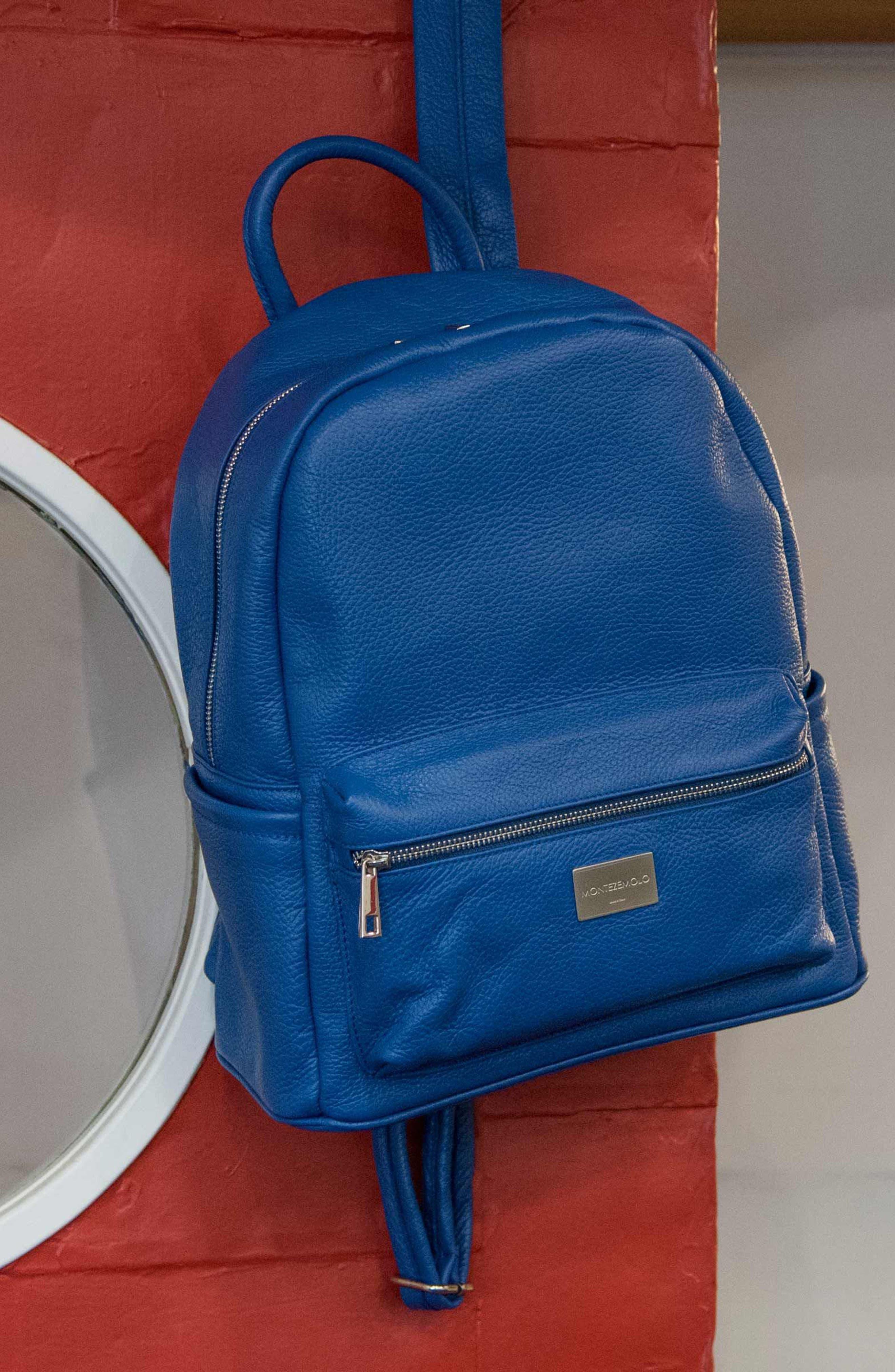 Alternate Image 5  - MONTEZEMOLO Leather Backpack