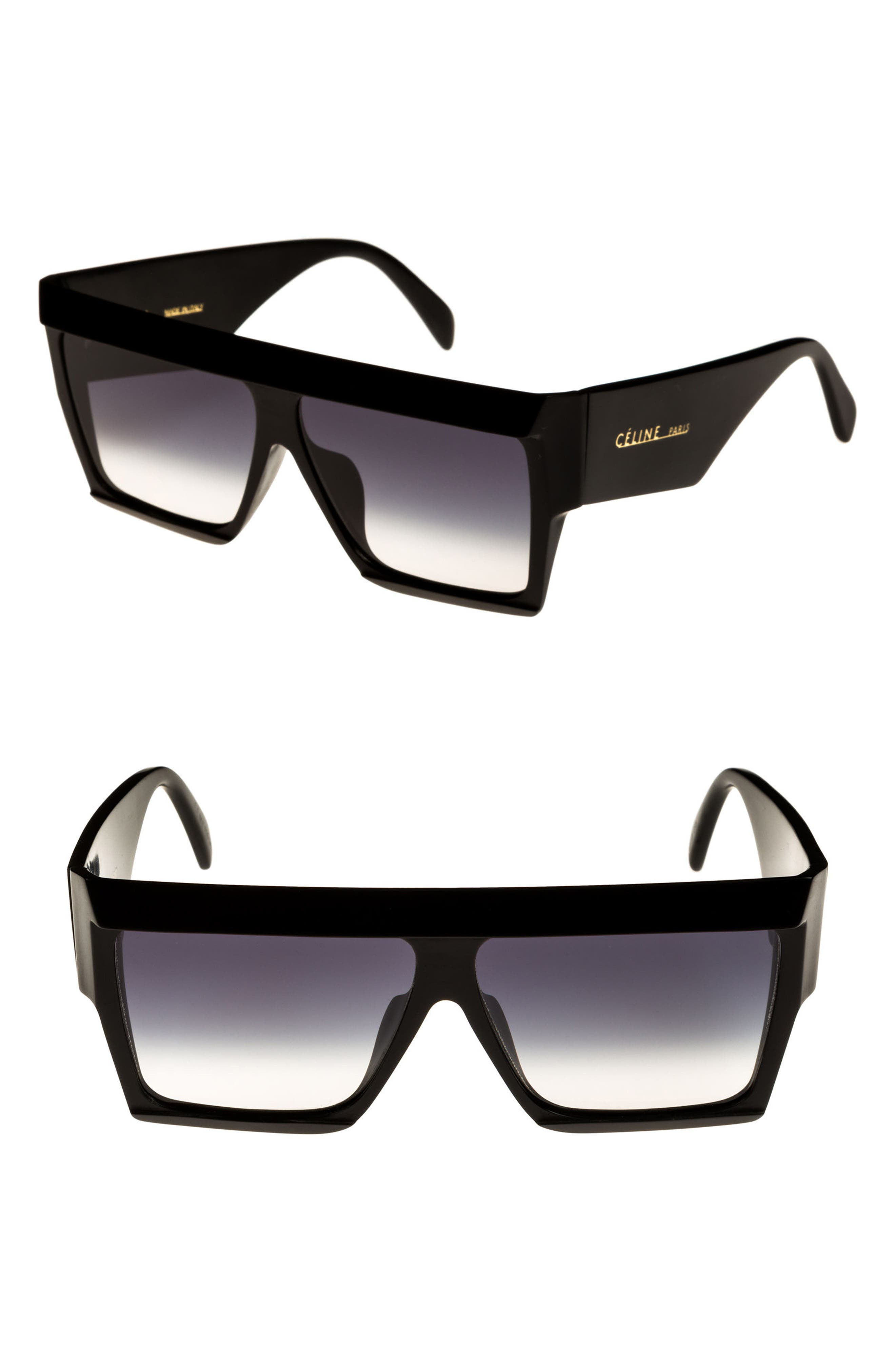 Céline 60mm Flat Top Sunglasses