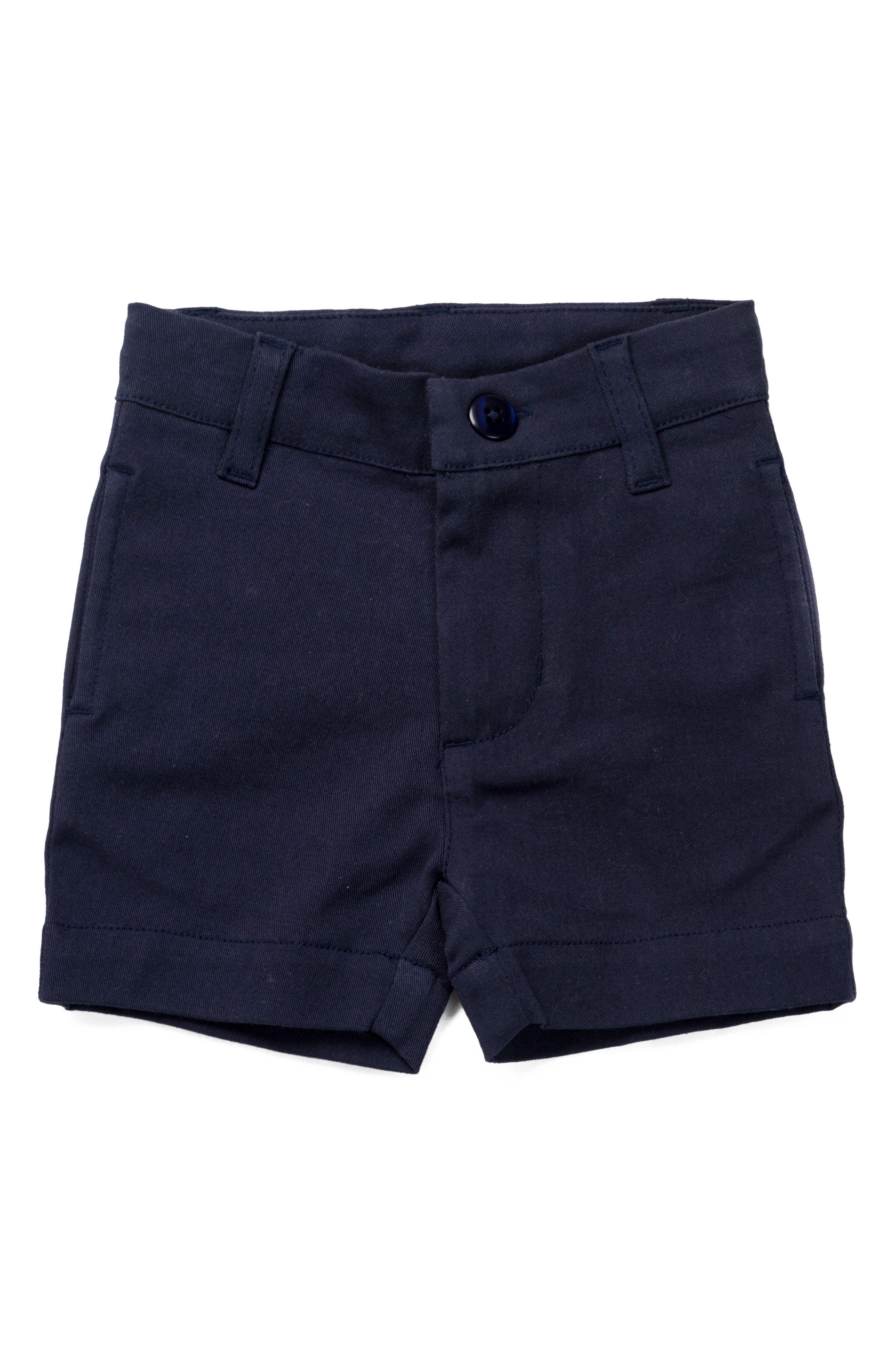 Alternate Image 1 Selected - Monica + Andy Old Sport Shorts (Toddler Boys)