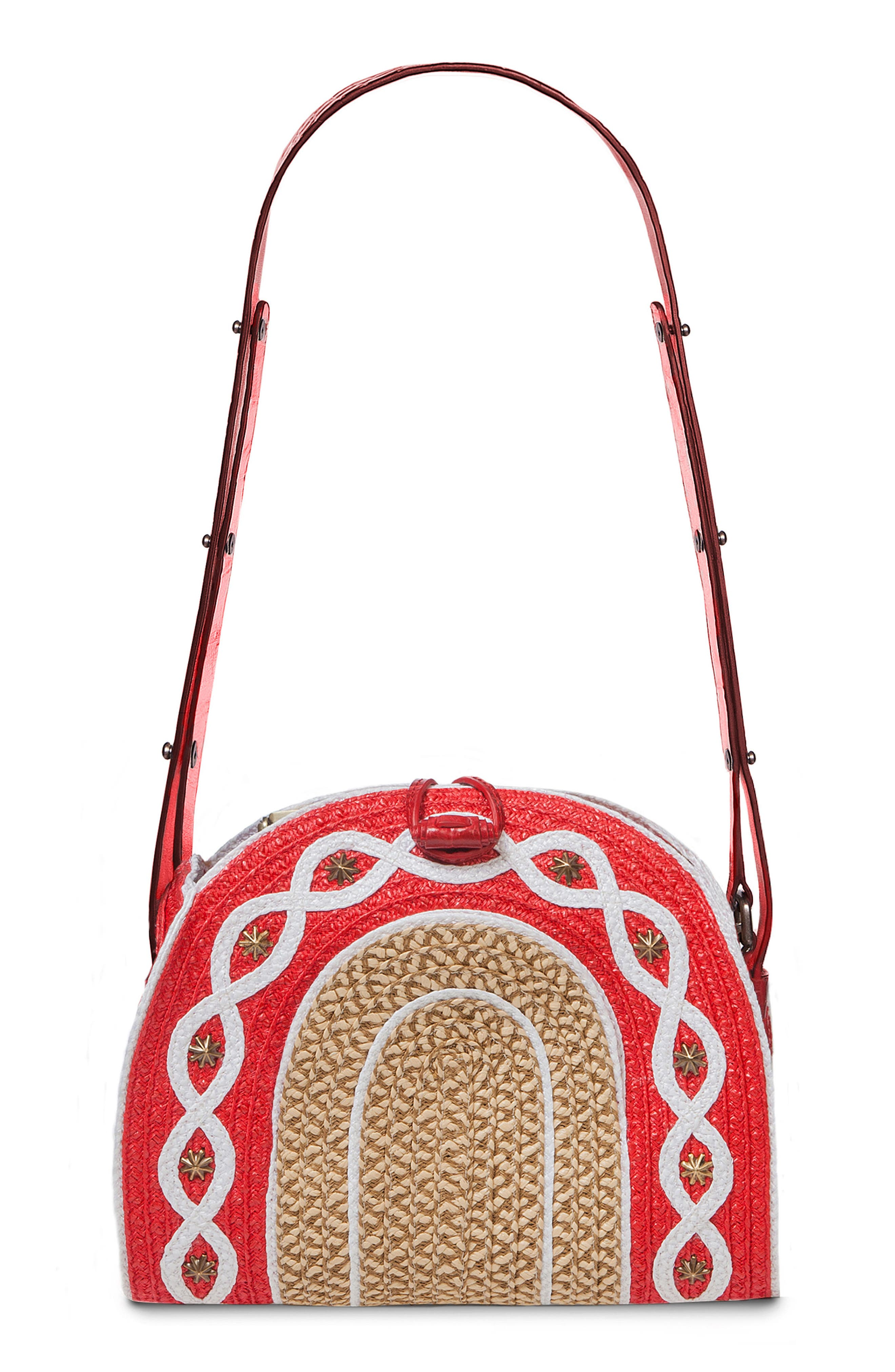 Lil Jiva Squishee<sup>®</sup> Crossbody,                         Main,                         color, Red Mix