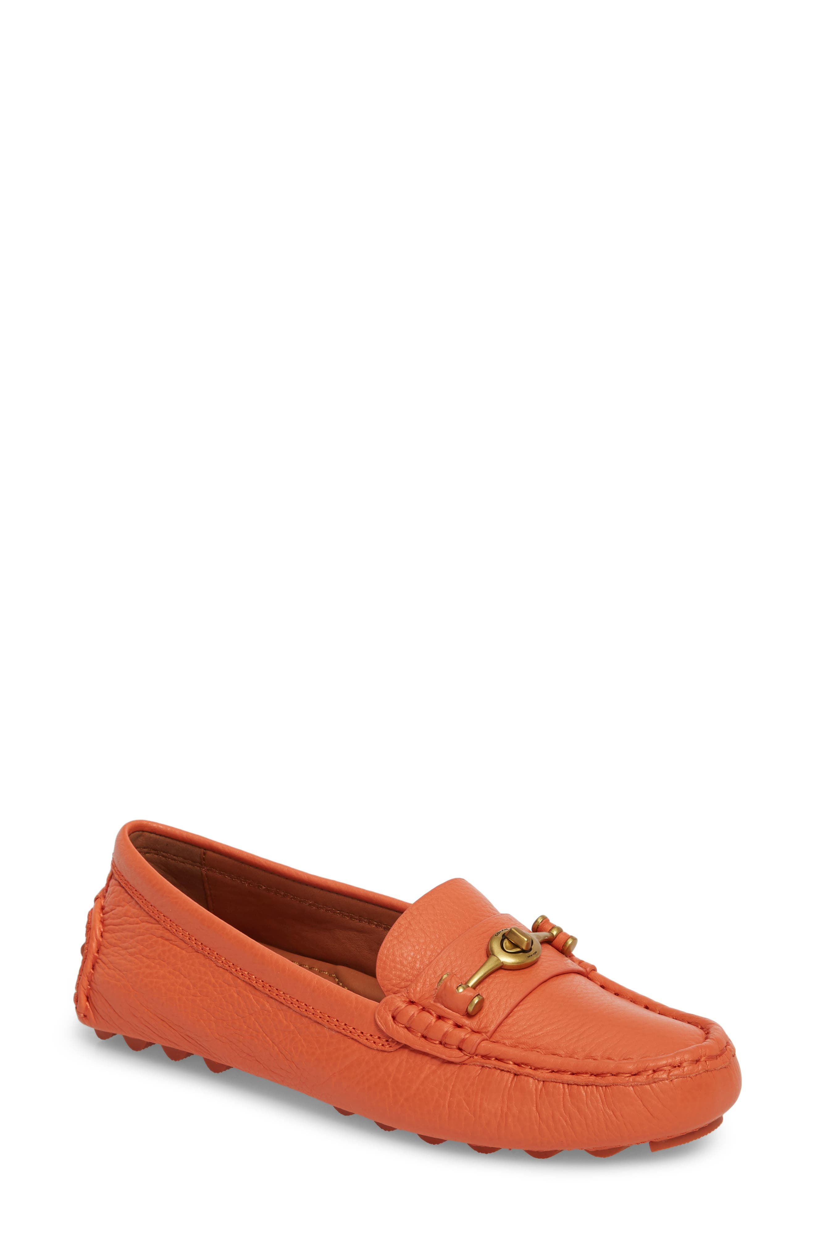 Alternate Image 1 Selected - COACH Crosby Driver Loafer (Women)