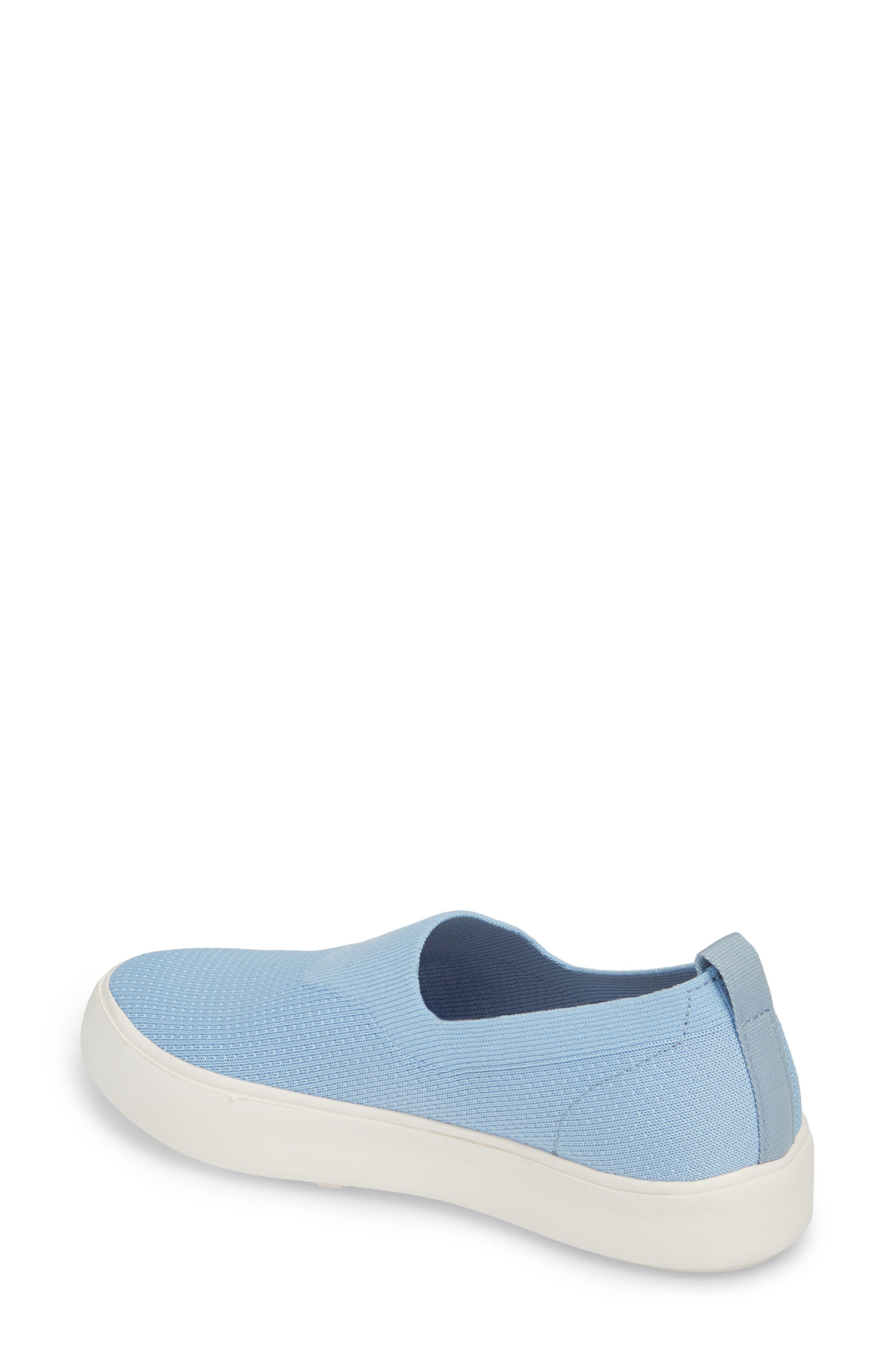 Hula Slip-On Sneaker,                             Alternate thumbnail 2, color,                             Fog Blue