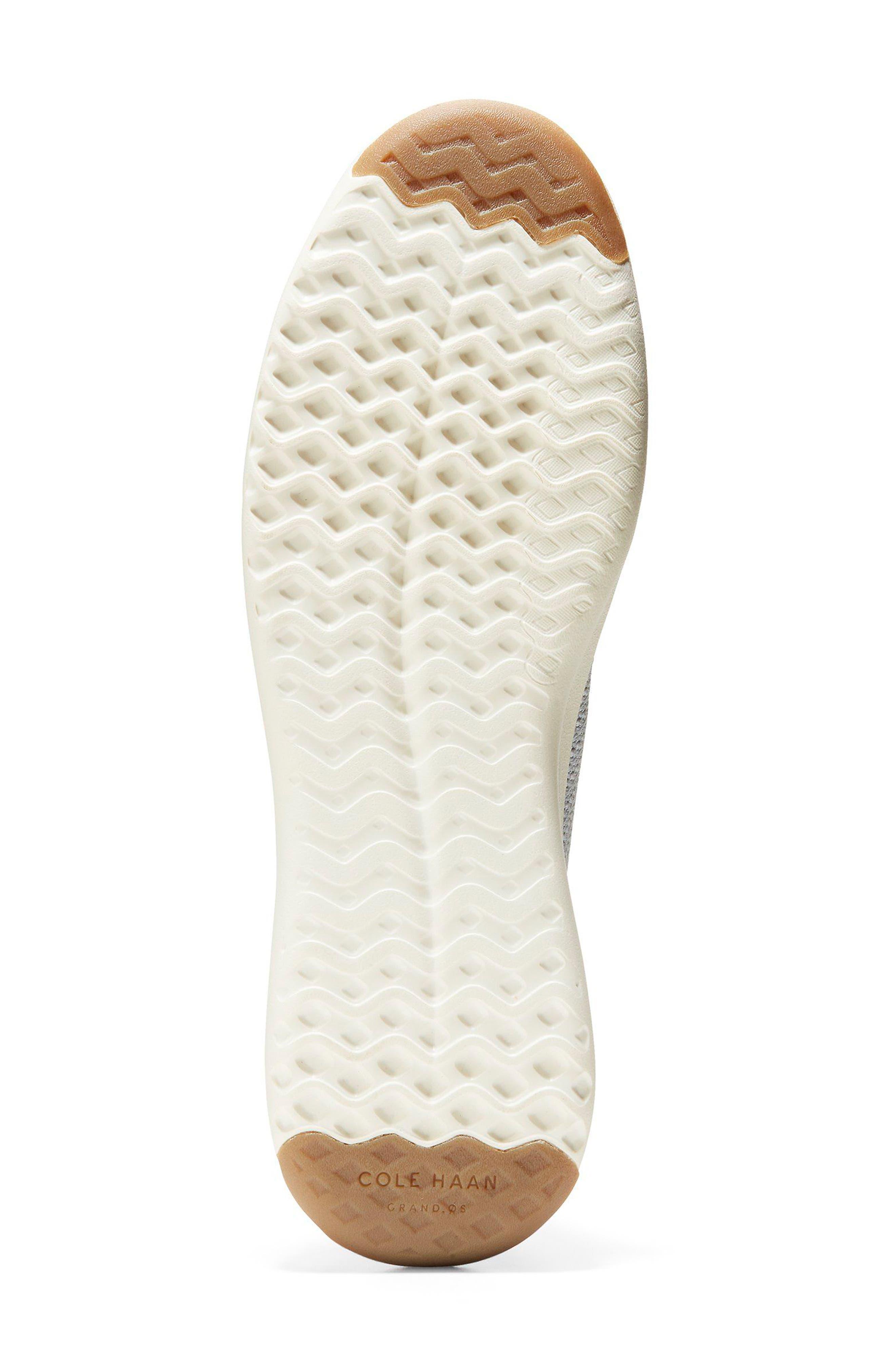 GrandPro Tennis Stitchlite Sneaker,                             Alternate thumbnail 6, color,                             Vapor Gray/ Optic White