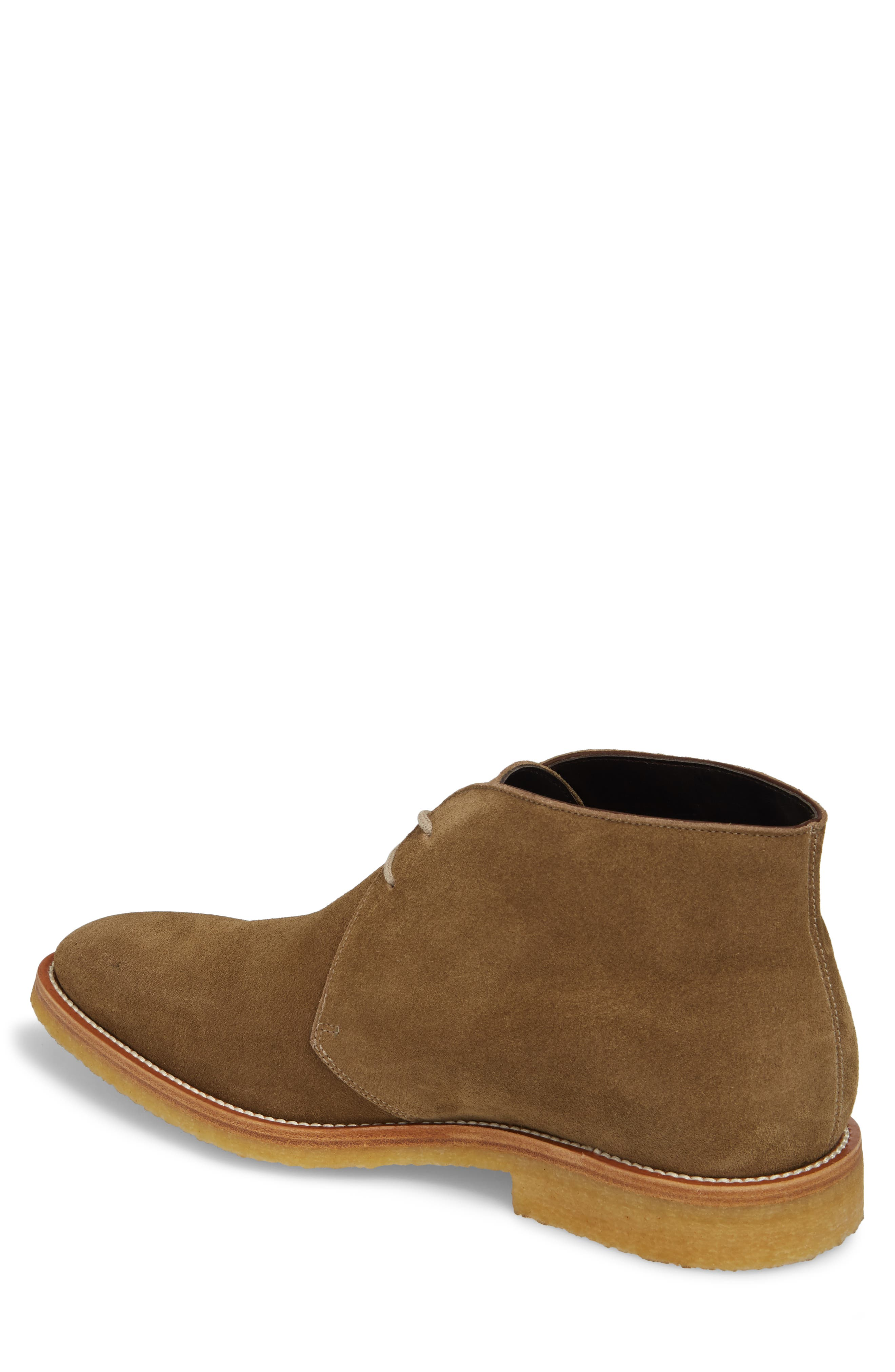 Banker Chukka Boot,                             Alternate thumbnail 2, color,                             Taupe Suede