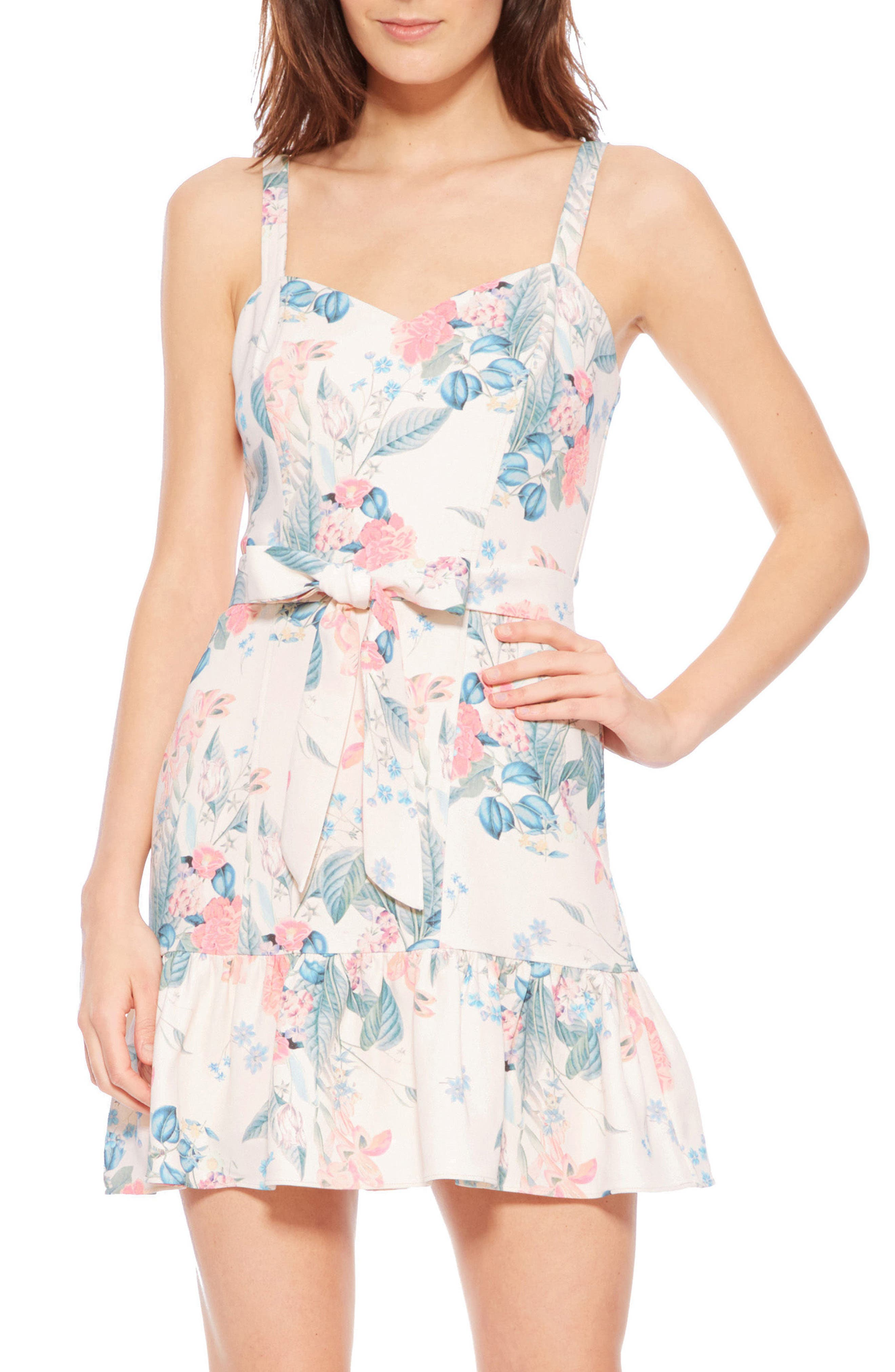 Yuna Dress,                         Main,                         color, Mellow Meadow