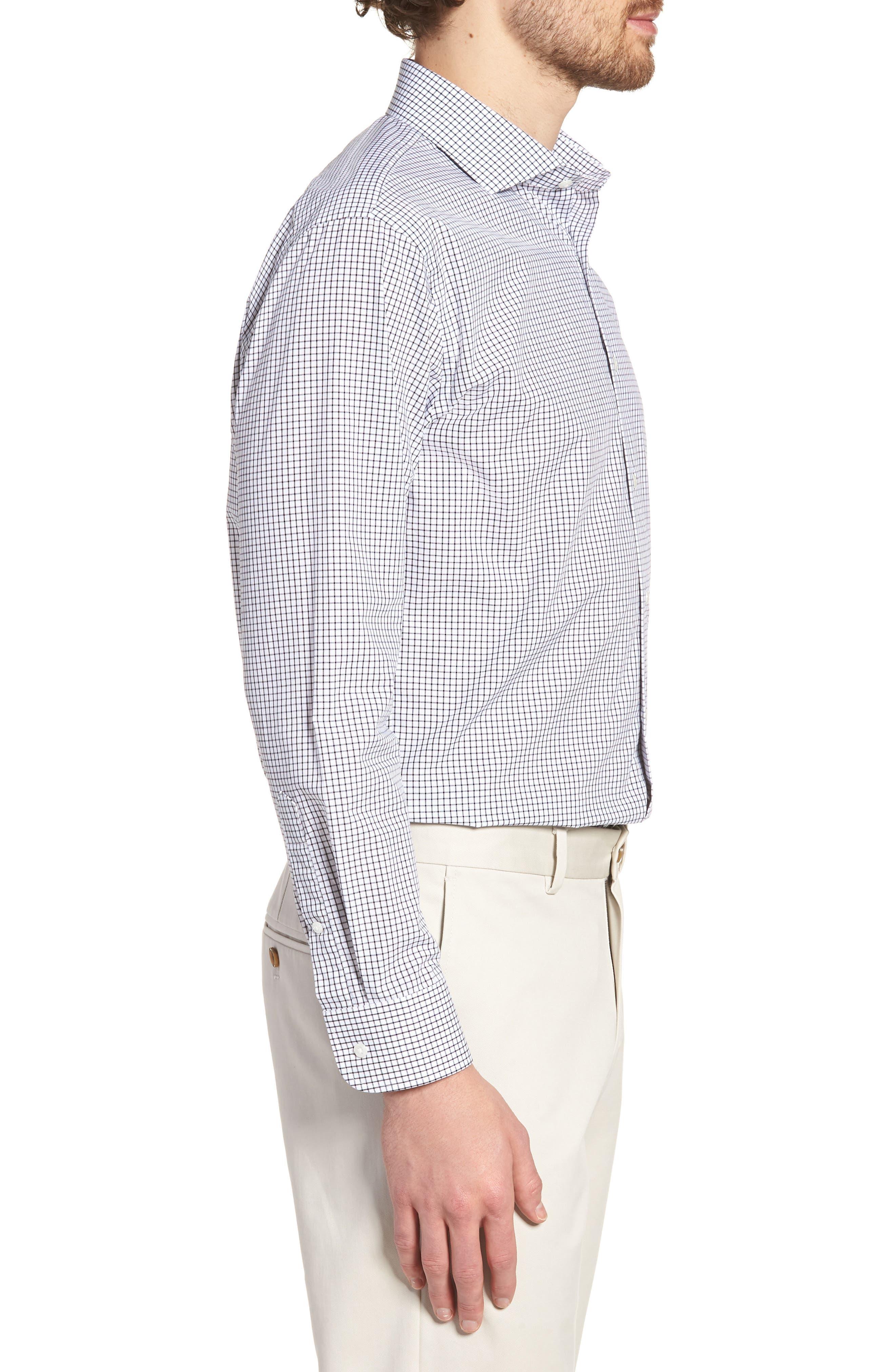 Alternate Image 3  - Nordstrom Men's Shop Trim Fit Check Dress Shirt