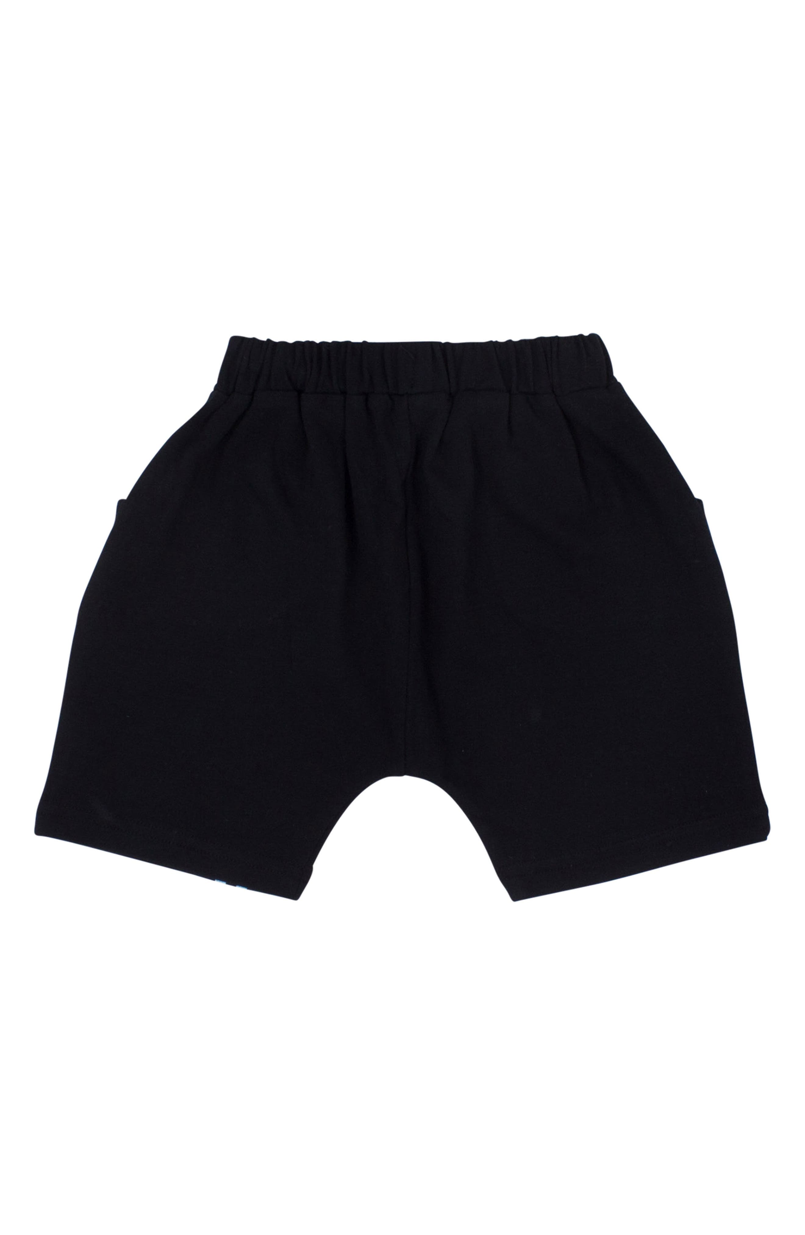 Pause Relaxed Shorts,                             Alternate thumbnail 2, color,                             Black