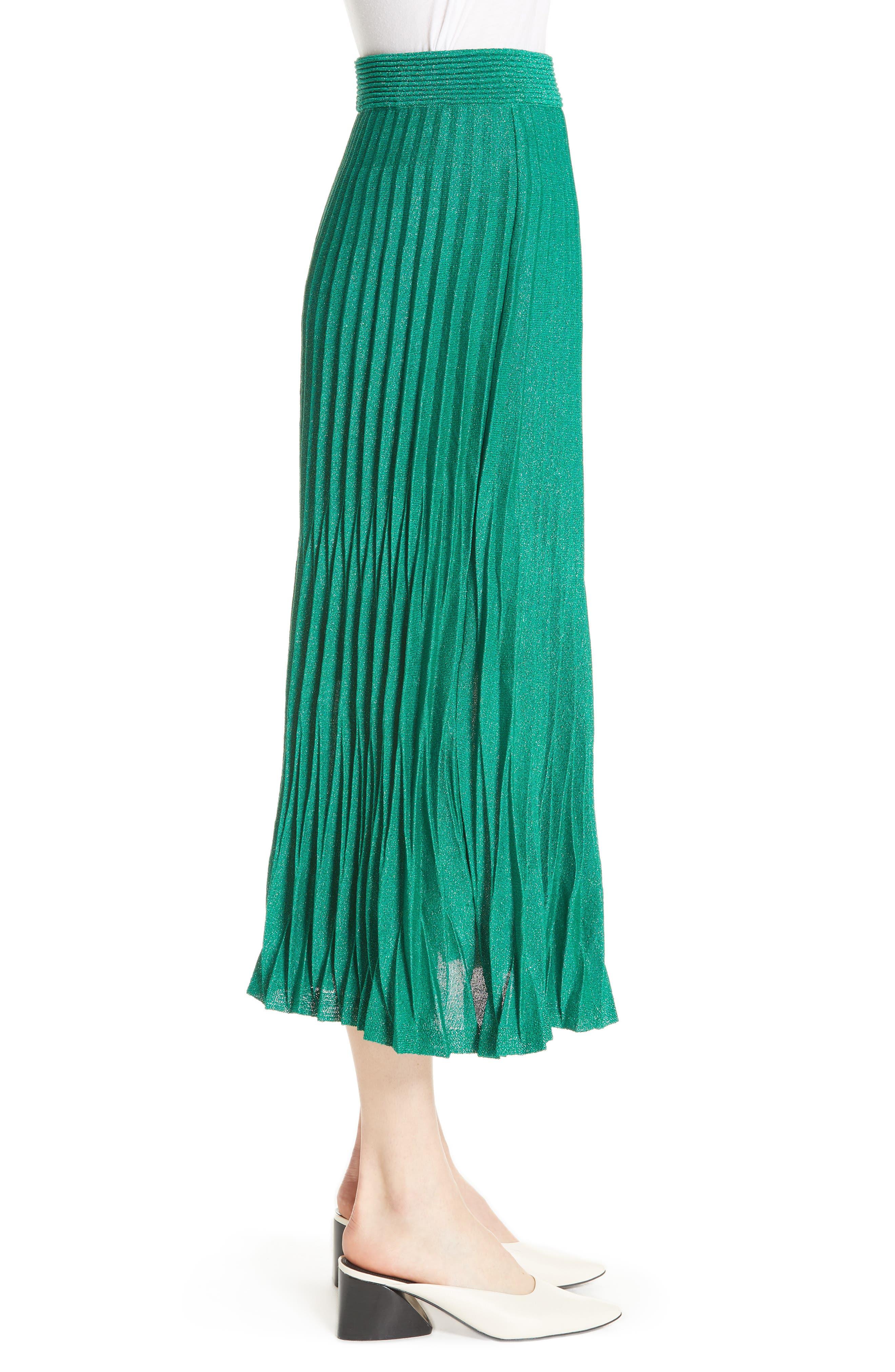 Alternate Image 4  - maje Jupette Pleated Midi Skirt