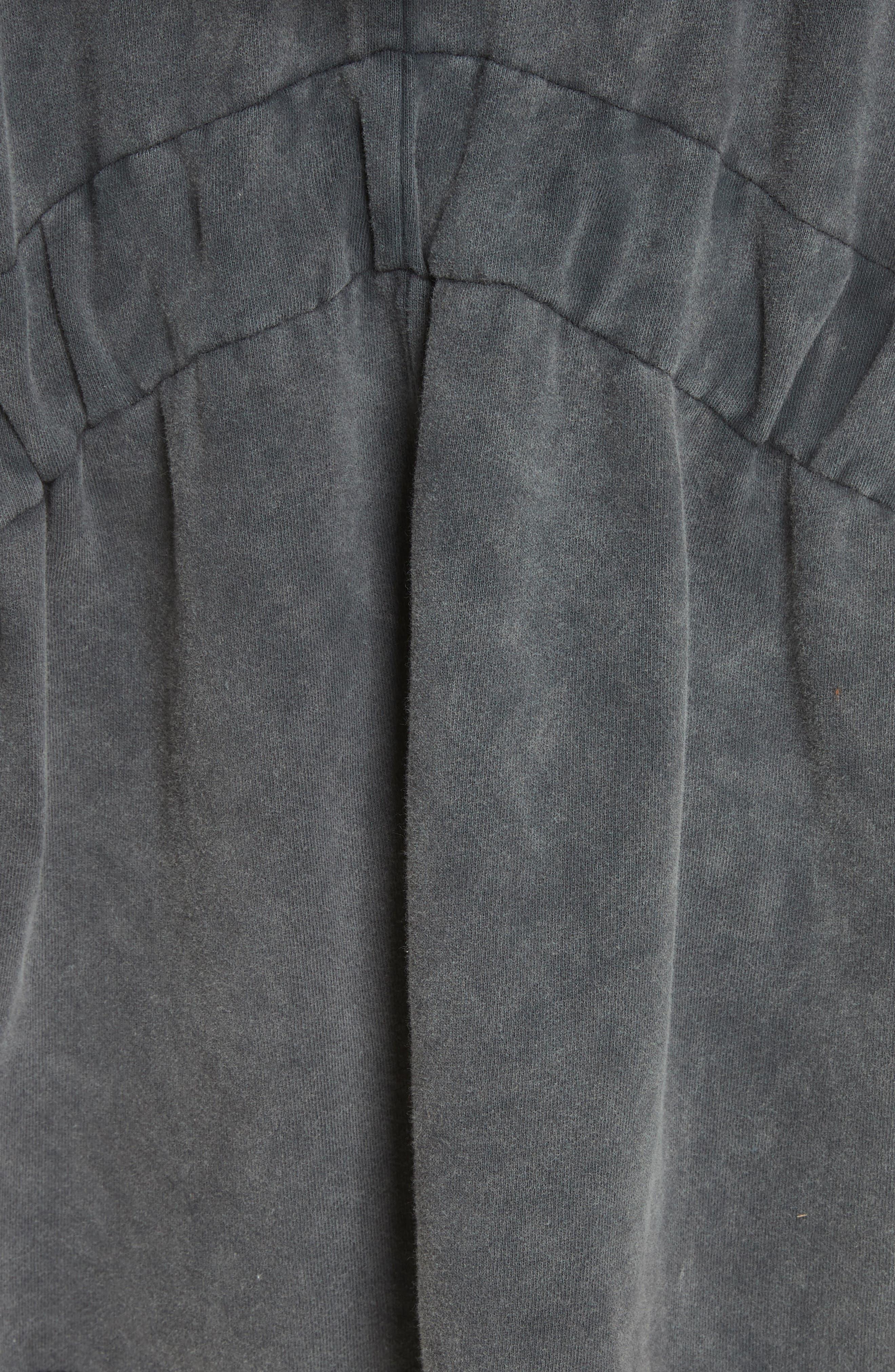 C'mon Hooded Cardigan,                             Alternate thumbnail 5, color,                             Black