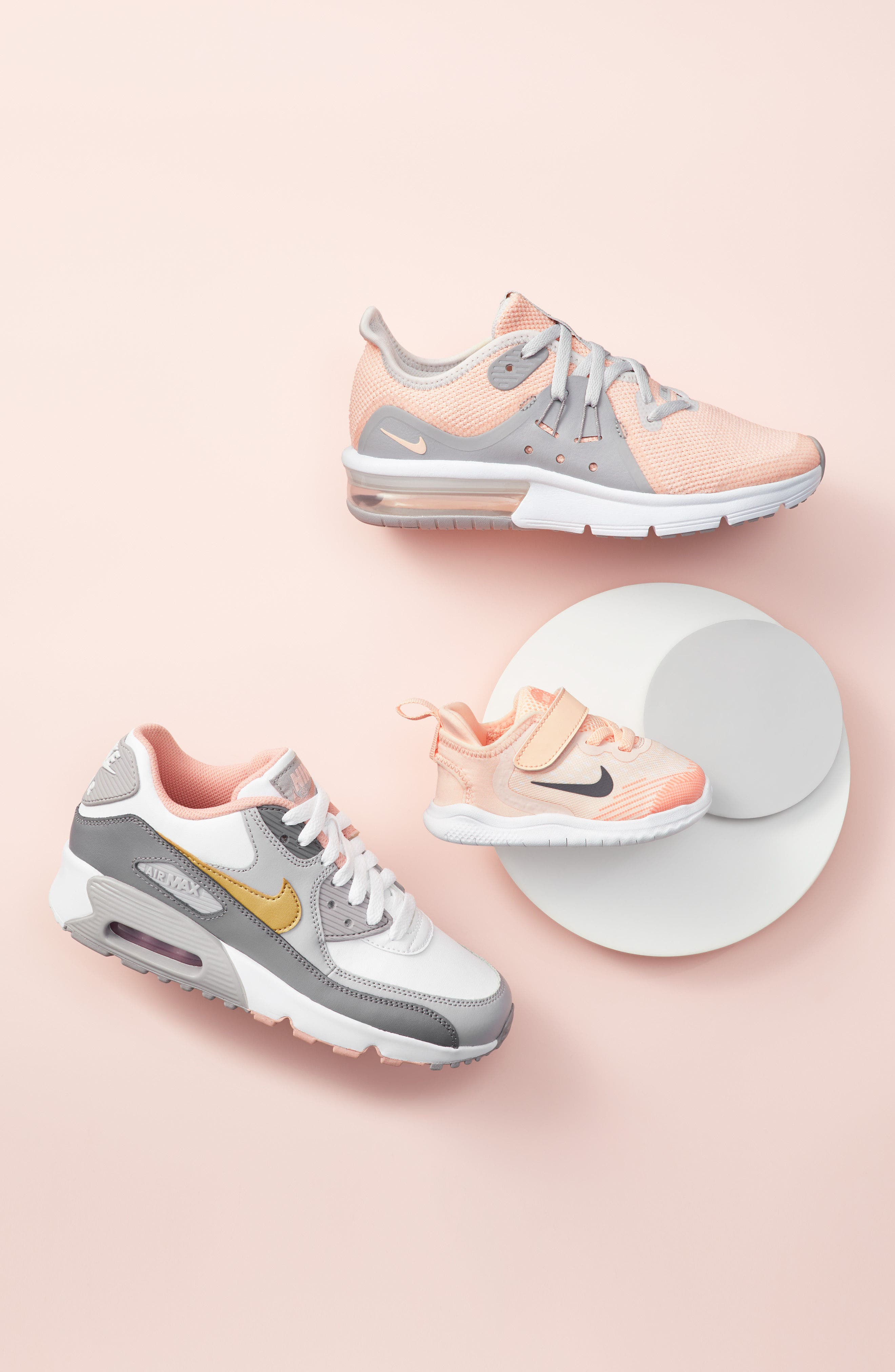 Air Max Sequent 3 GS Running Shoe,                             Alternate thumbnail 2, color,