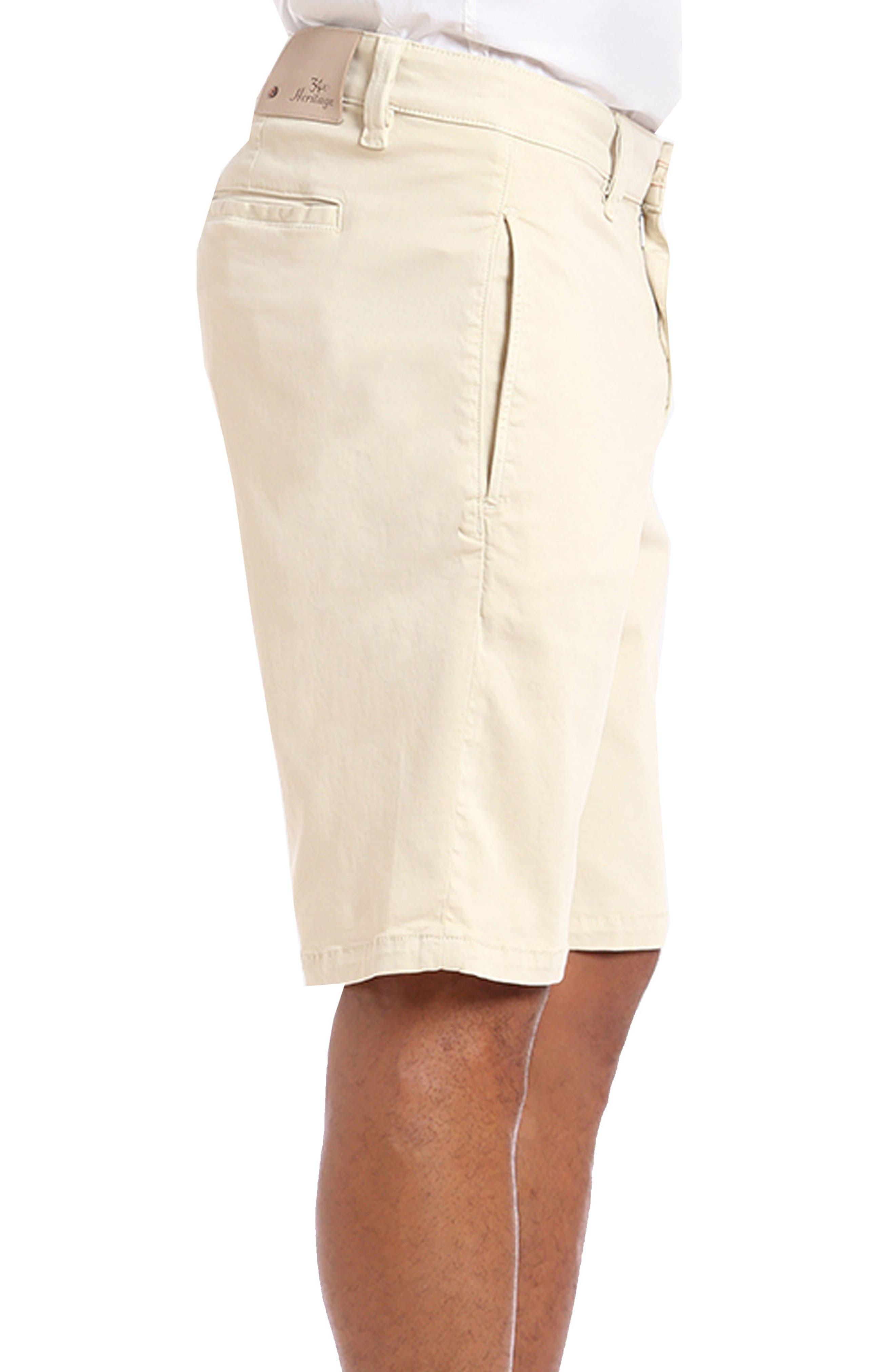 Nevada Twill Shorts,                             Alternate thumbnail 3, color,                             Bone Twill