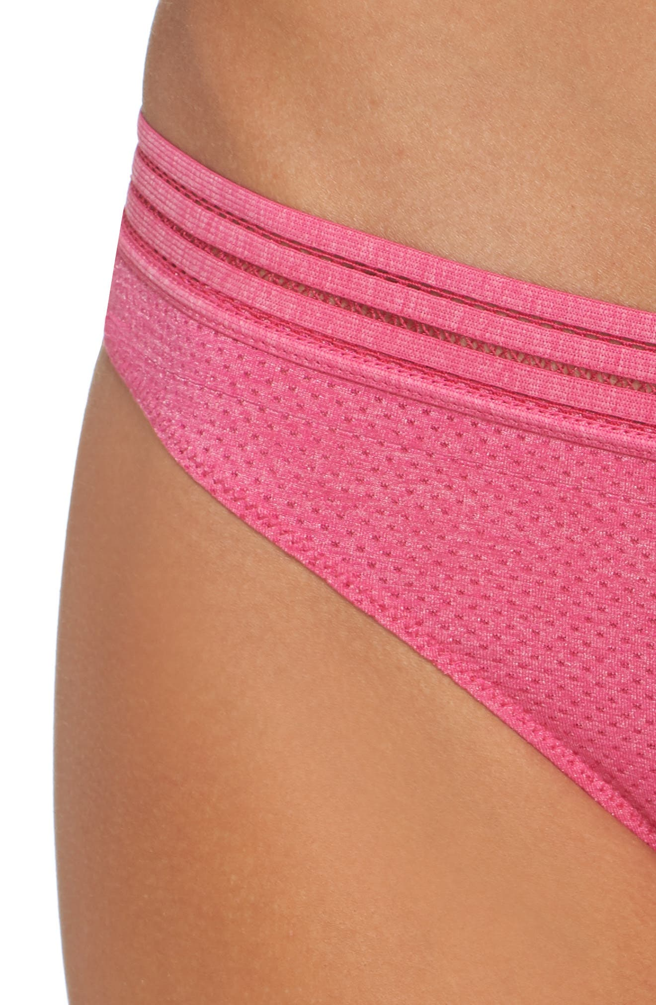 Active Thong,                             Alternate thumbnail 5, color,                             Pink Peacock