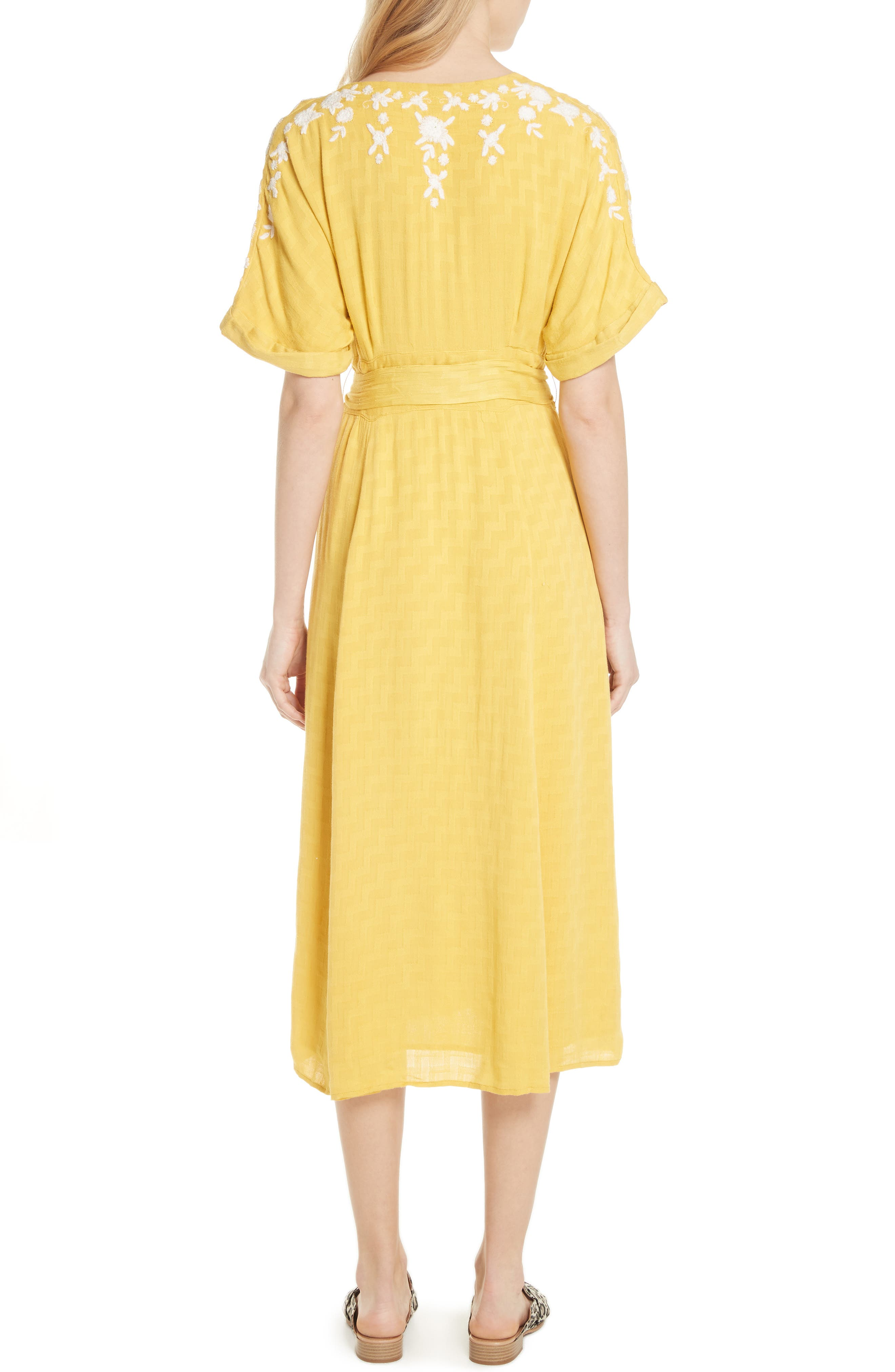 Love to Love You Dress,                             Alternate thumbnail 2, color,                             Yellow