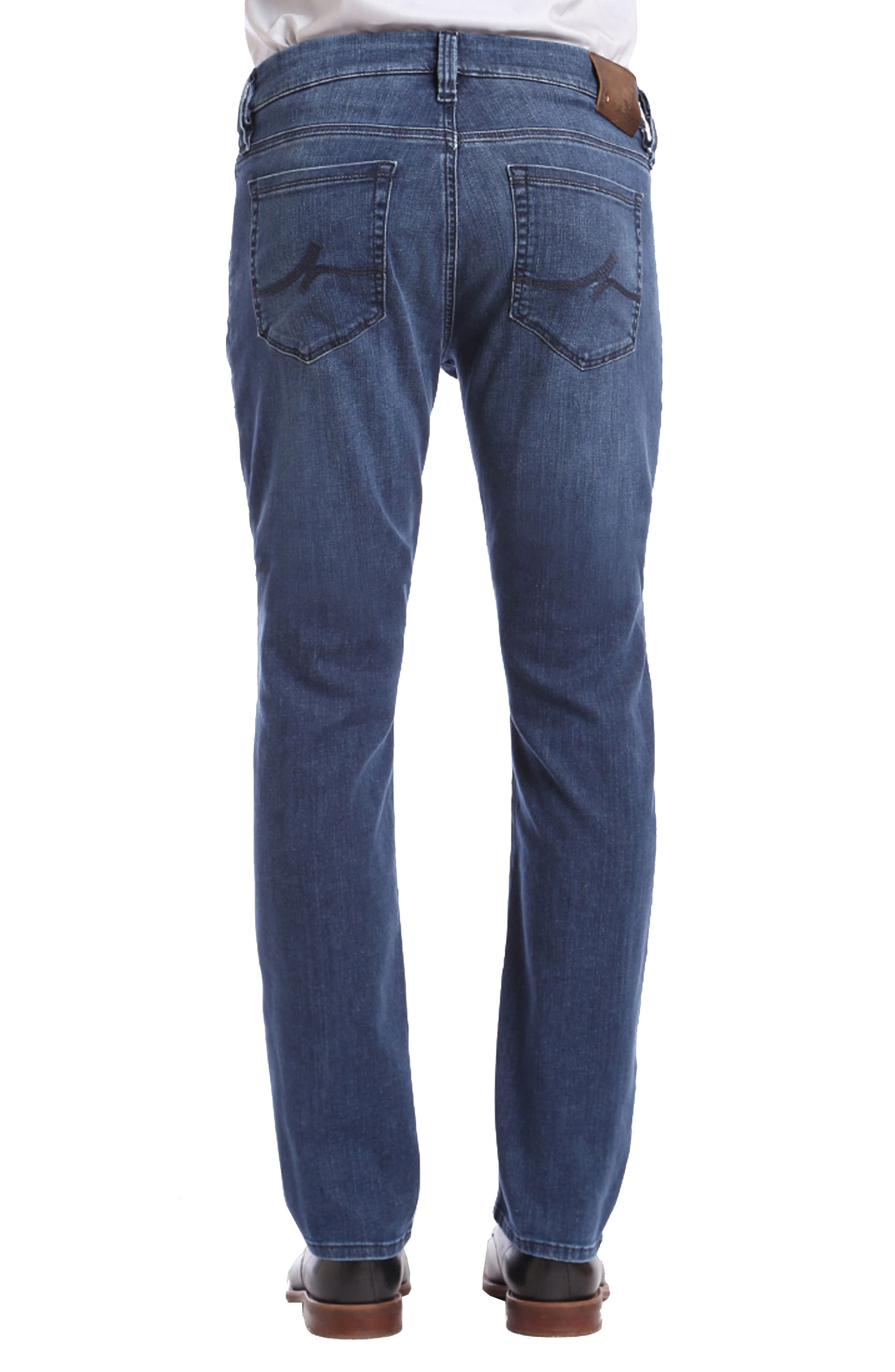 Courage Straight Fit Jeans,                             Alternate thumbnail 2, color,                             Mid Milan
