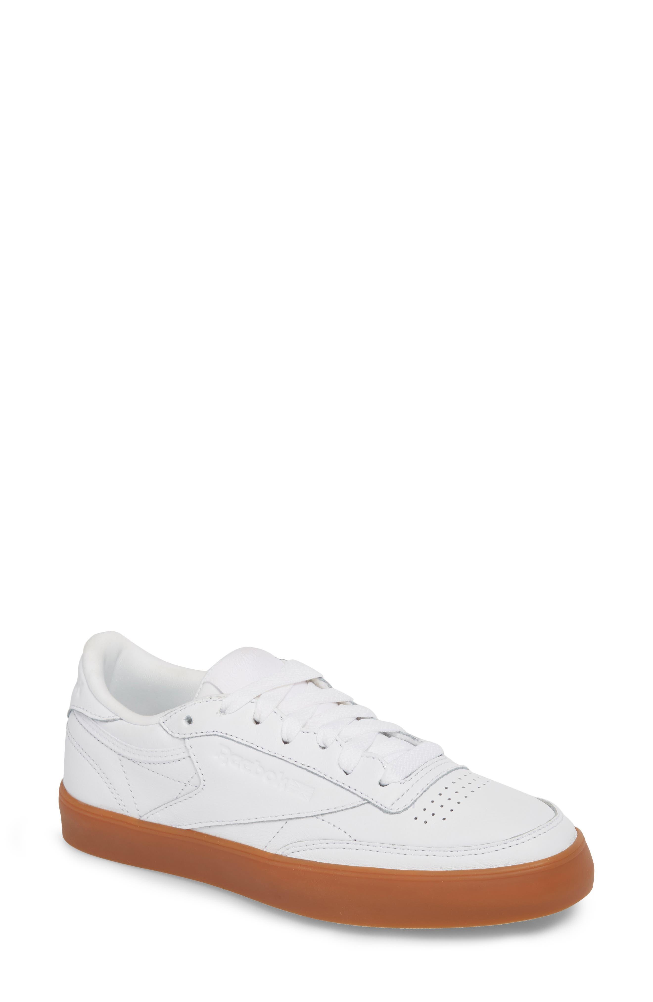 Alternate Image 1 Selected - Reebok Club C 85 Sneaker (Women)