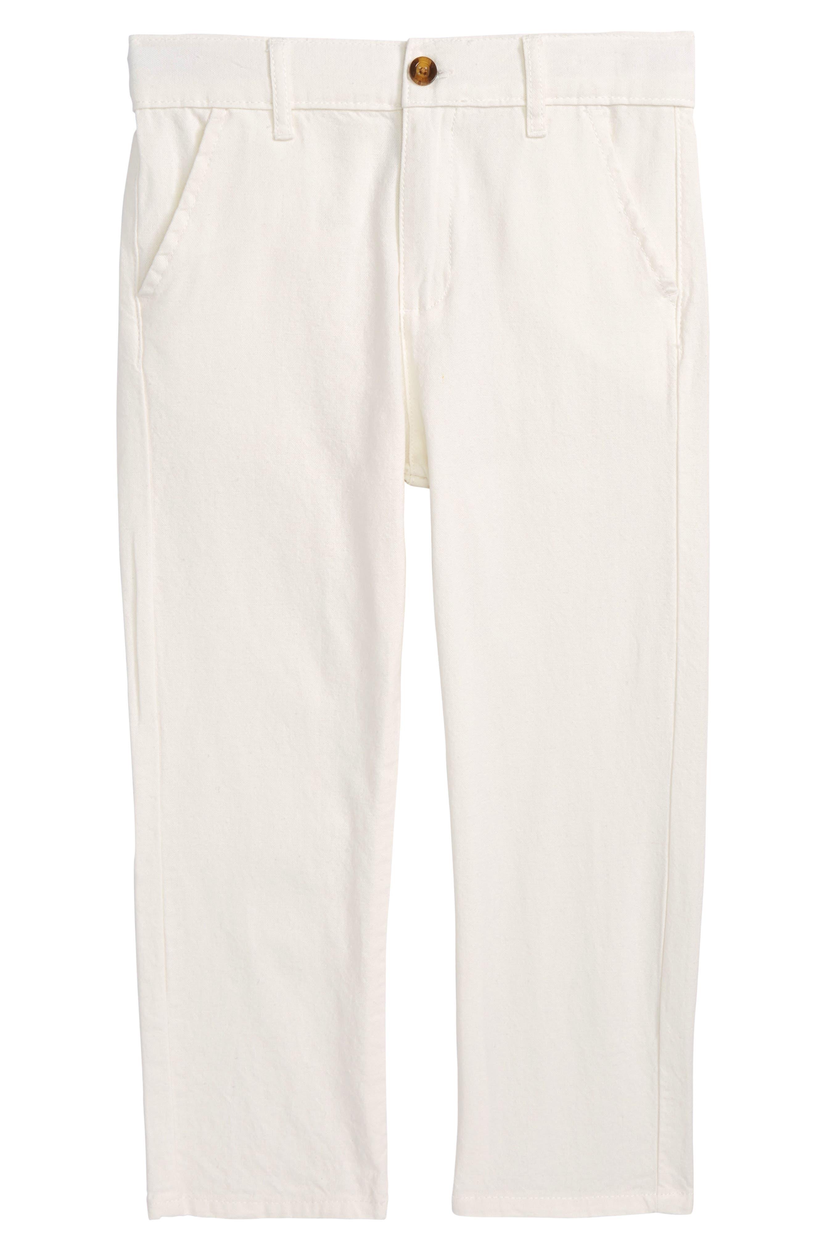 Beach Pants,                             Main thumbnail 1, color,                             Ivory