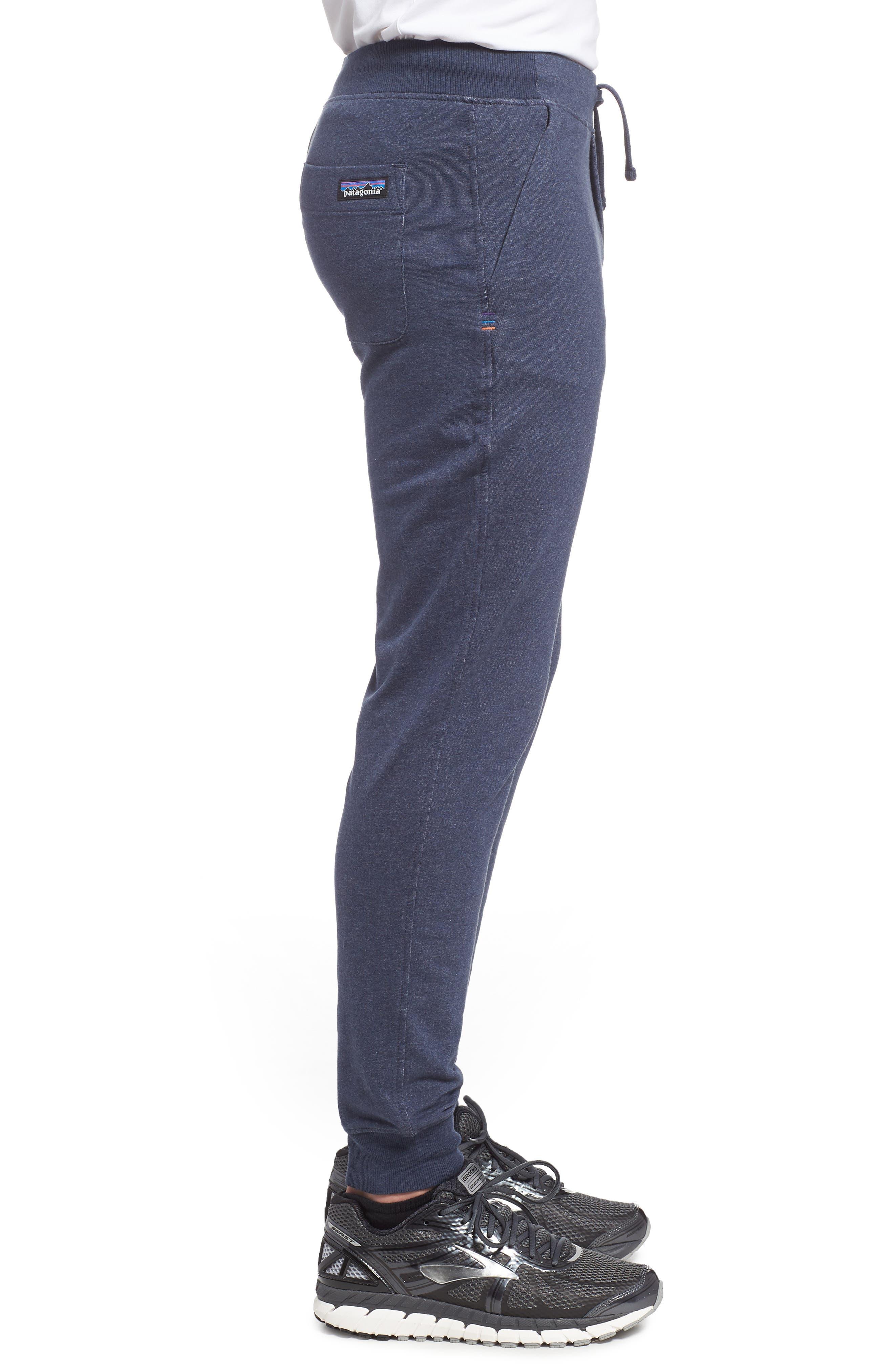M's Mahnya Fleece Jogger Pants,                             Alternate thumbnail 3, color,                             Navy Blue