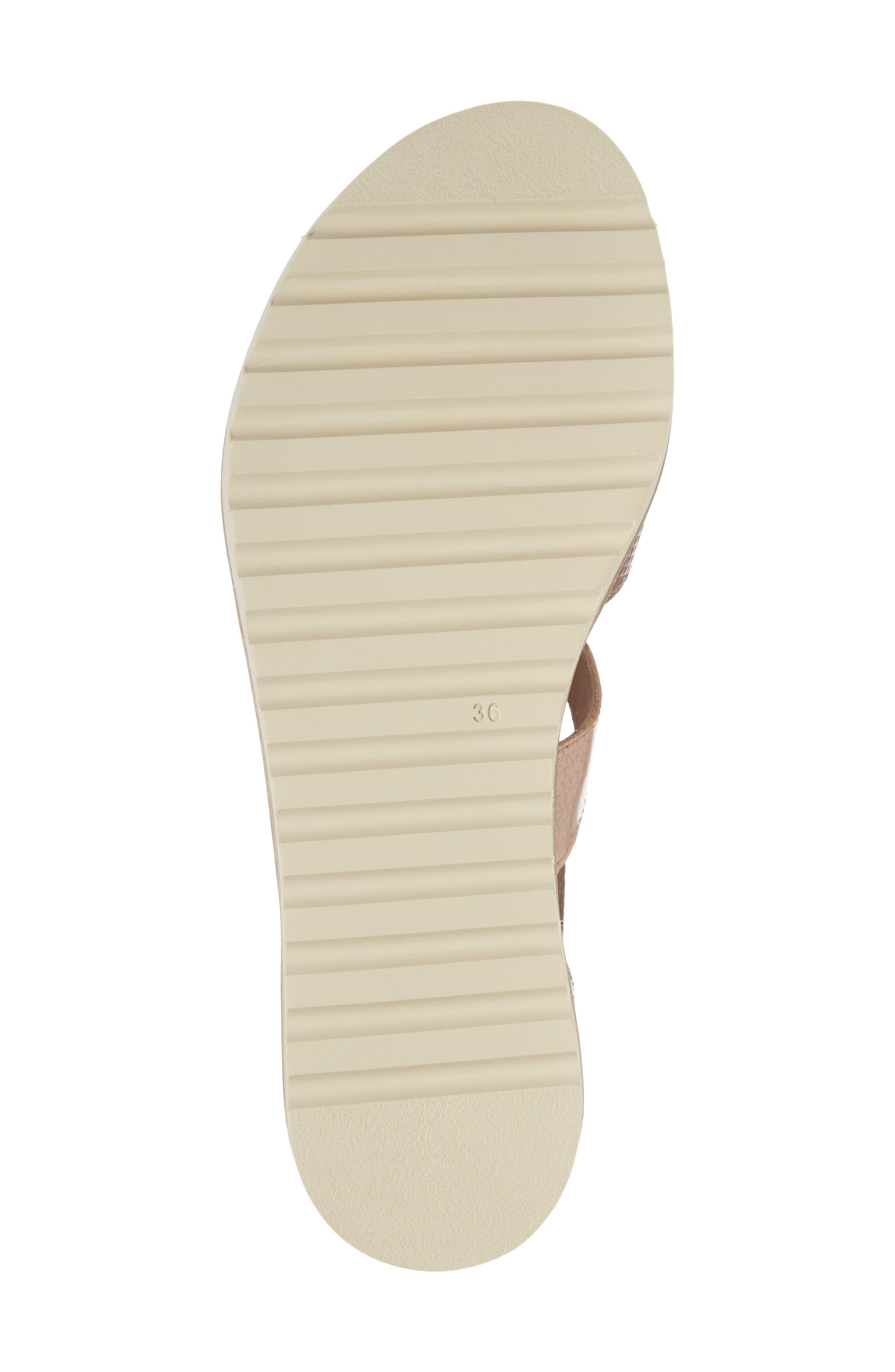 Alcudia Sandal,                             Alternate thumbnail 6, color,                             Cuero Leather