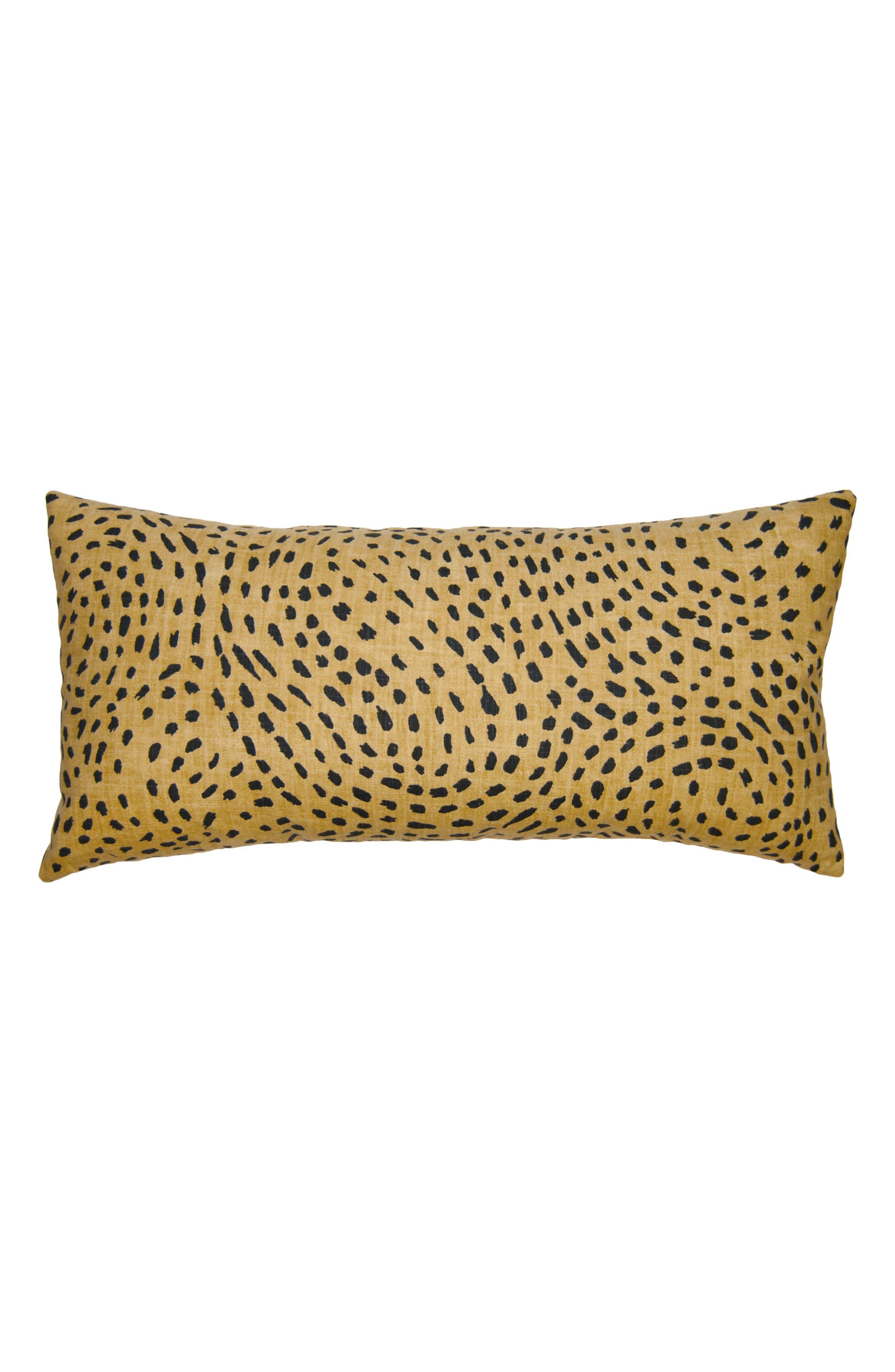 Kingdom Cheetah Accent Pillow,                         Main,                         color, Tan