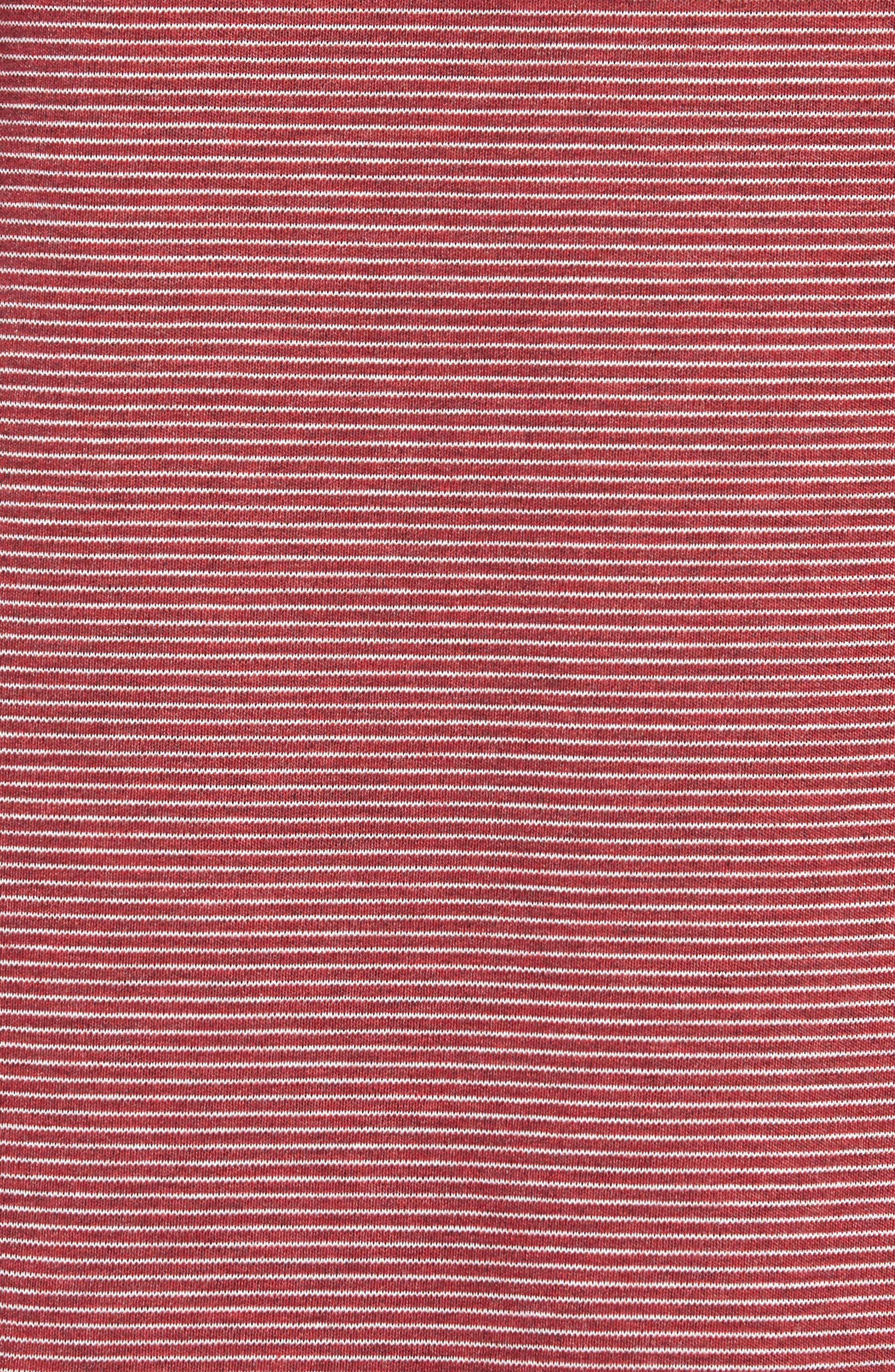 Pacific Shore Polo,                             Alternate thumbnail 5, color,                             Beet Red Heather