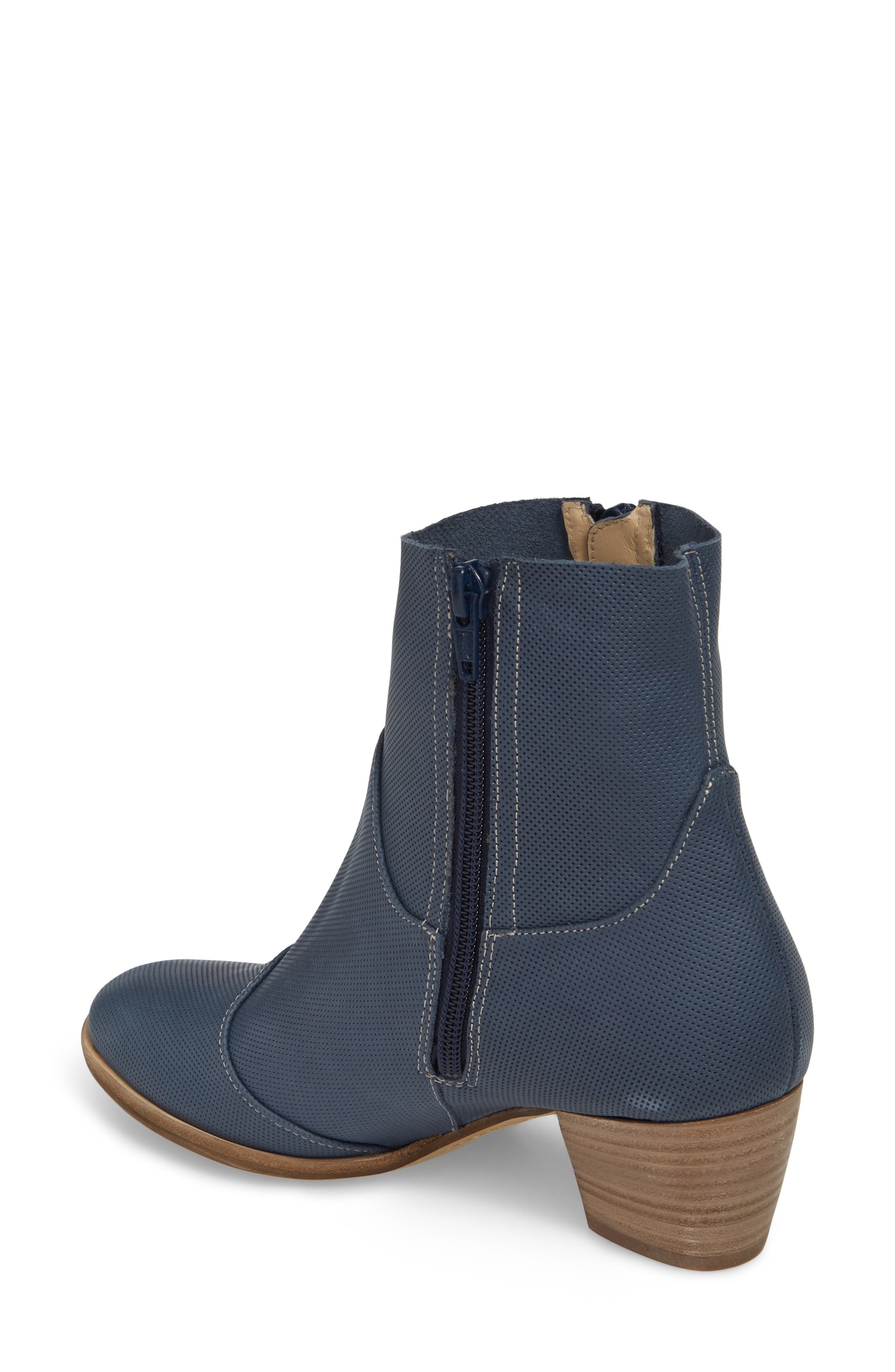 Robin Bootie,                             Alternate thumbnail 2, color,                             Blue Leather