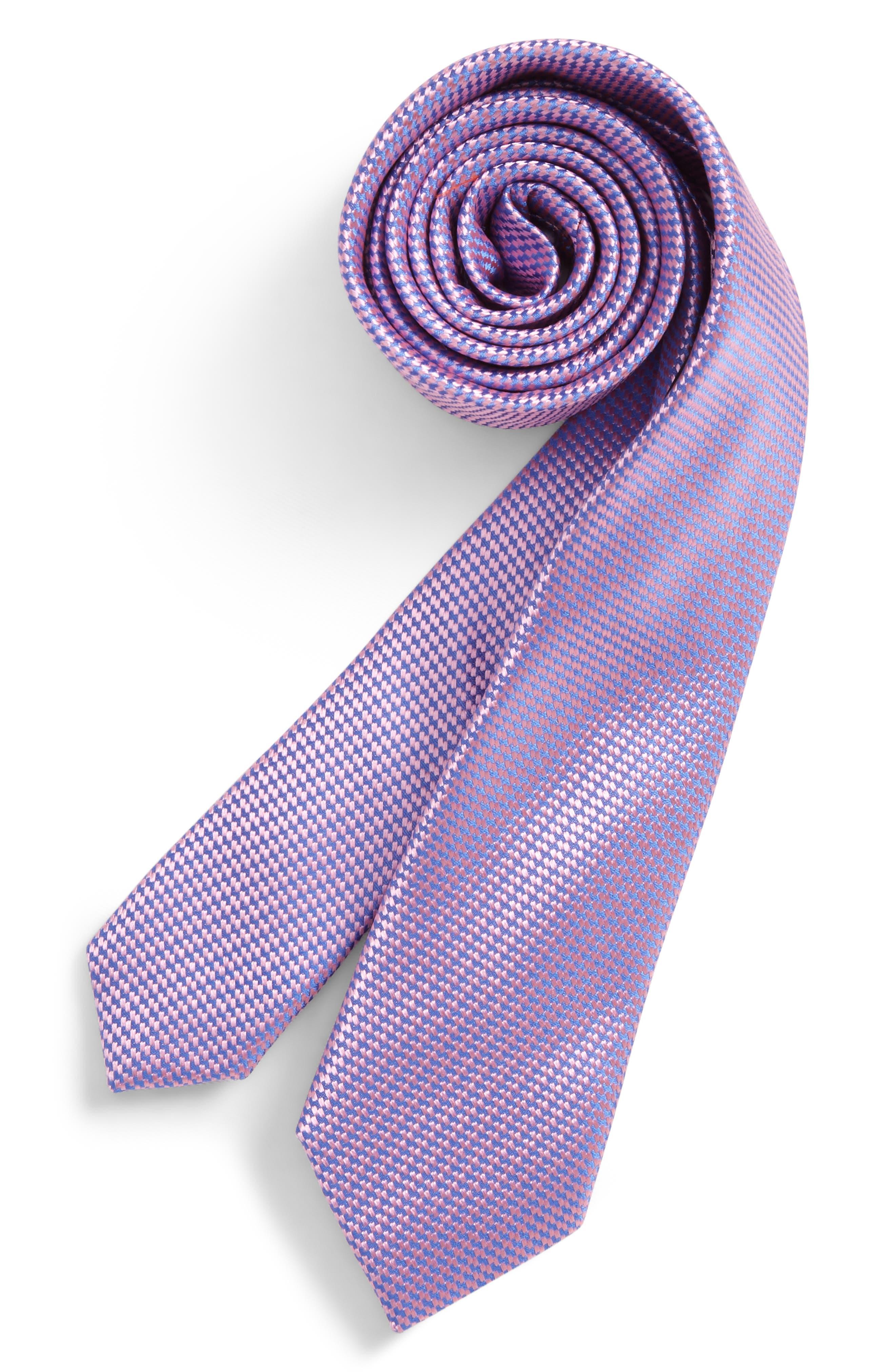Nordstrom Digital Neat Silk Tie (Little Boys)