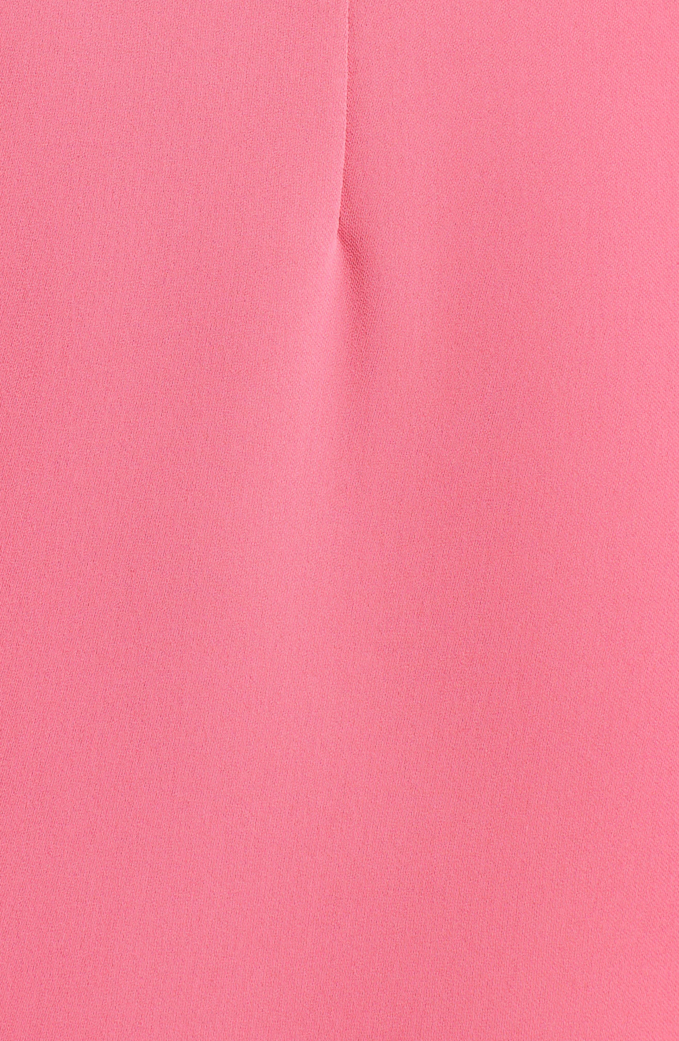 Nera Sheath Dress,                             Alternate thumbnail 5, color,                             Peony
