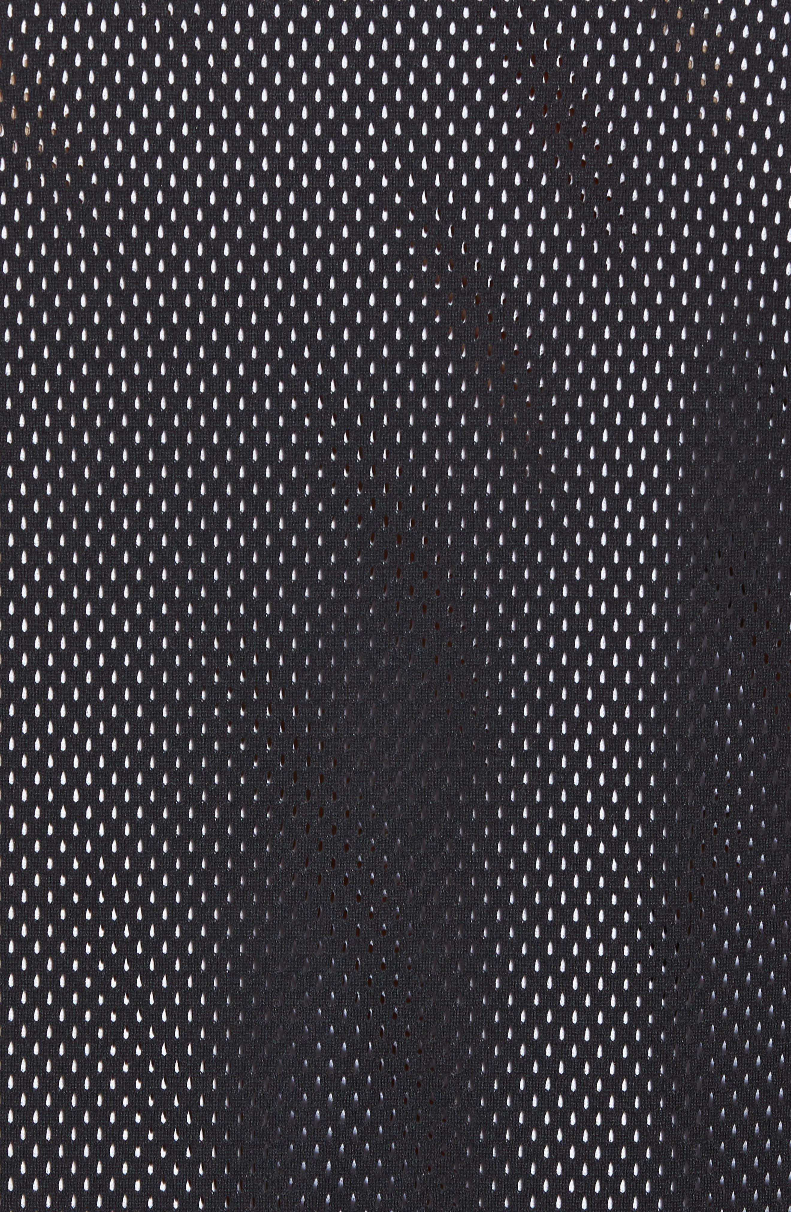 Sportswear Air Knit Tank,                             Alternate thumbnail 5, color,                             Black/ White