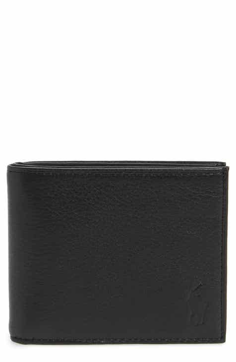 a6317ac8594 Polo Ralph Lauren Bifold Leather Wallet