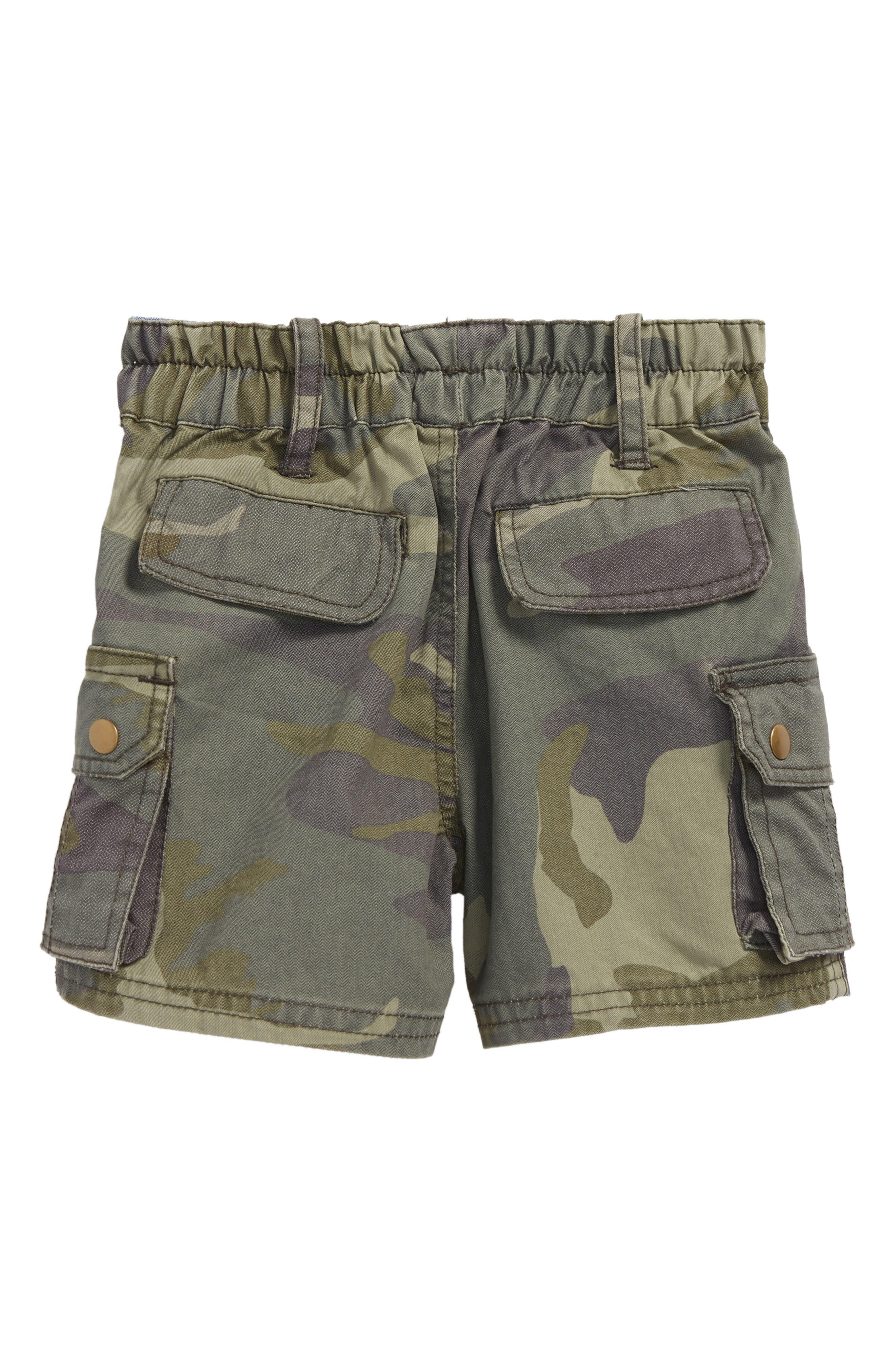 Explorer Camo Shorts,                             Alternate thumbnail 2, color,                             Olive